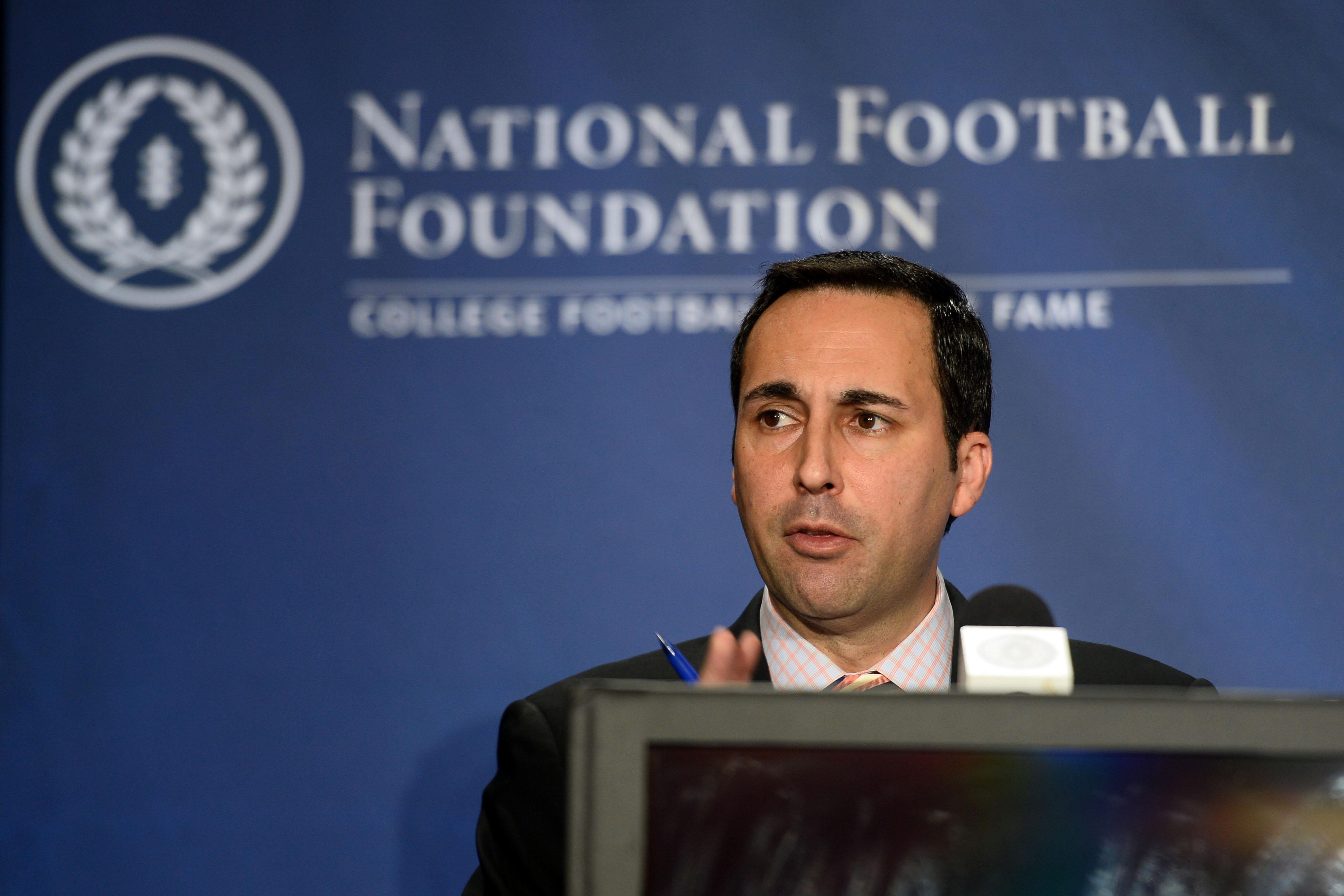 NCAA Football: National Football Hall of Fame-Press Conference