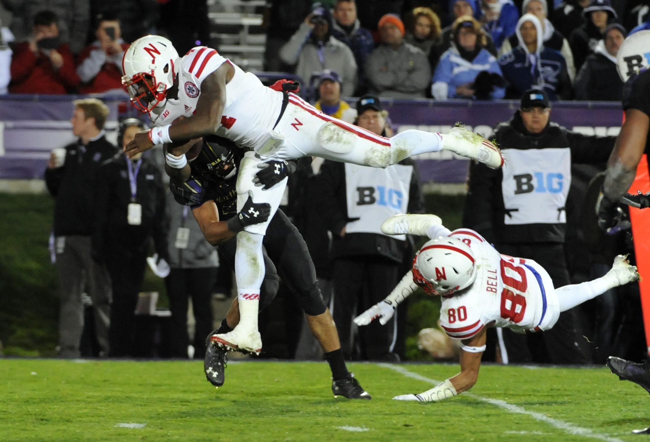NCAA Football: Nebraska at Northwestern