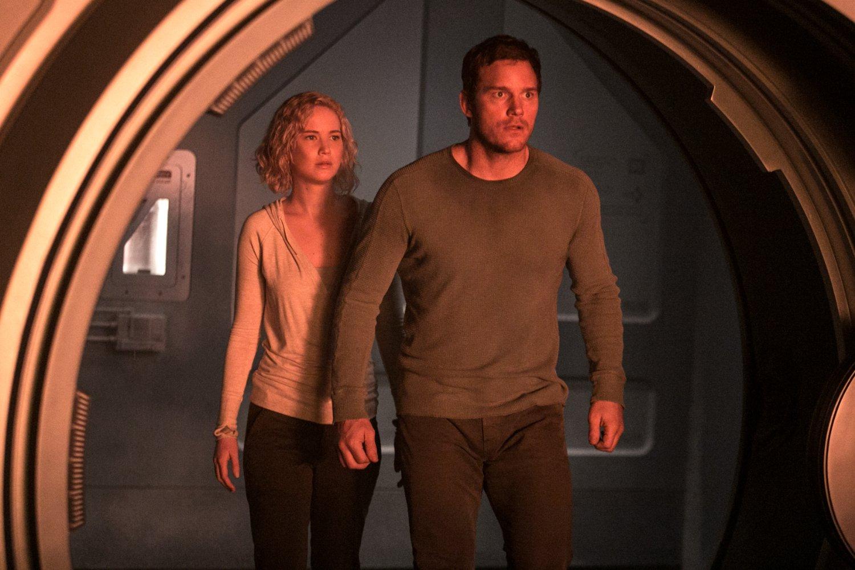 Chris Pratt and Jennifer Lawrence's Passengers is basically space Titanic
