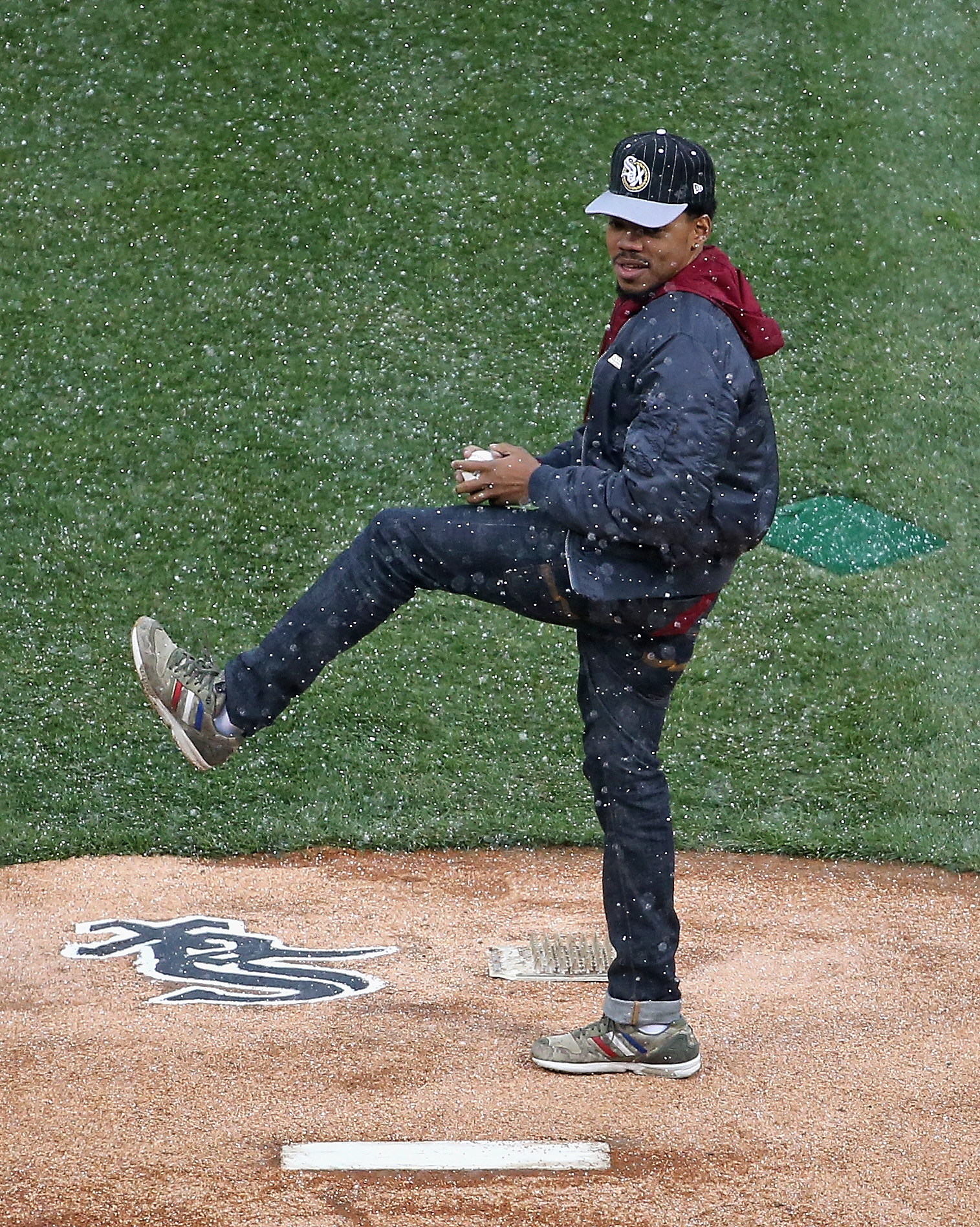 Chance the Rapper on Opening Day