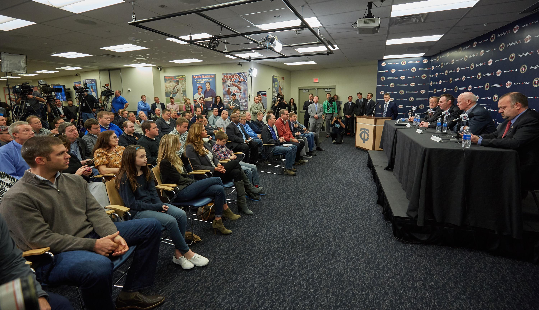 Minnesota Twins Introduce Paul Molitor
