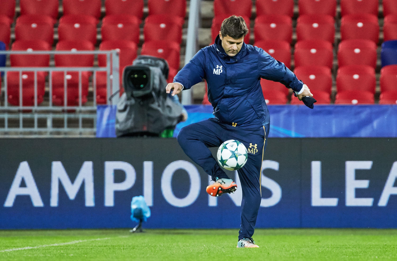 Tottenham Hotspur Training and Press Confernece - UEFA Champions League