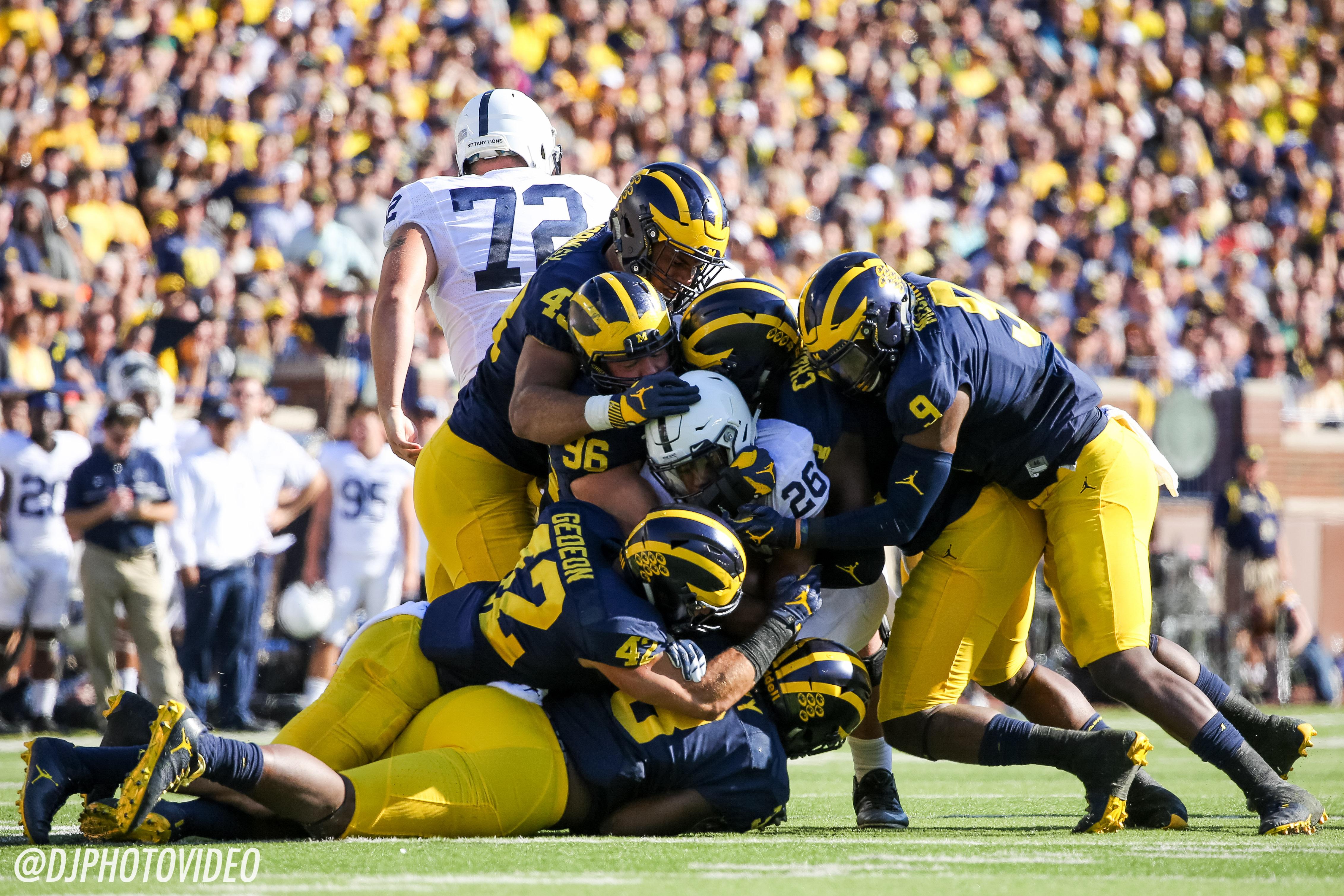 Photo Gallery: Michigan 49, Penn State 10