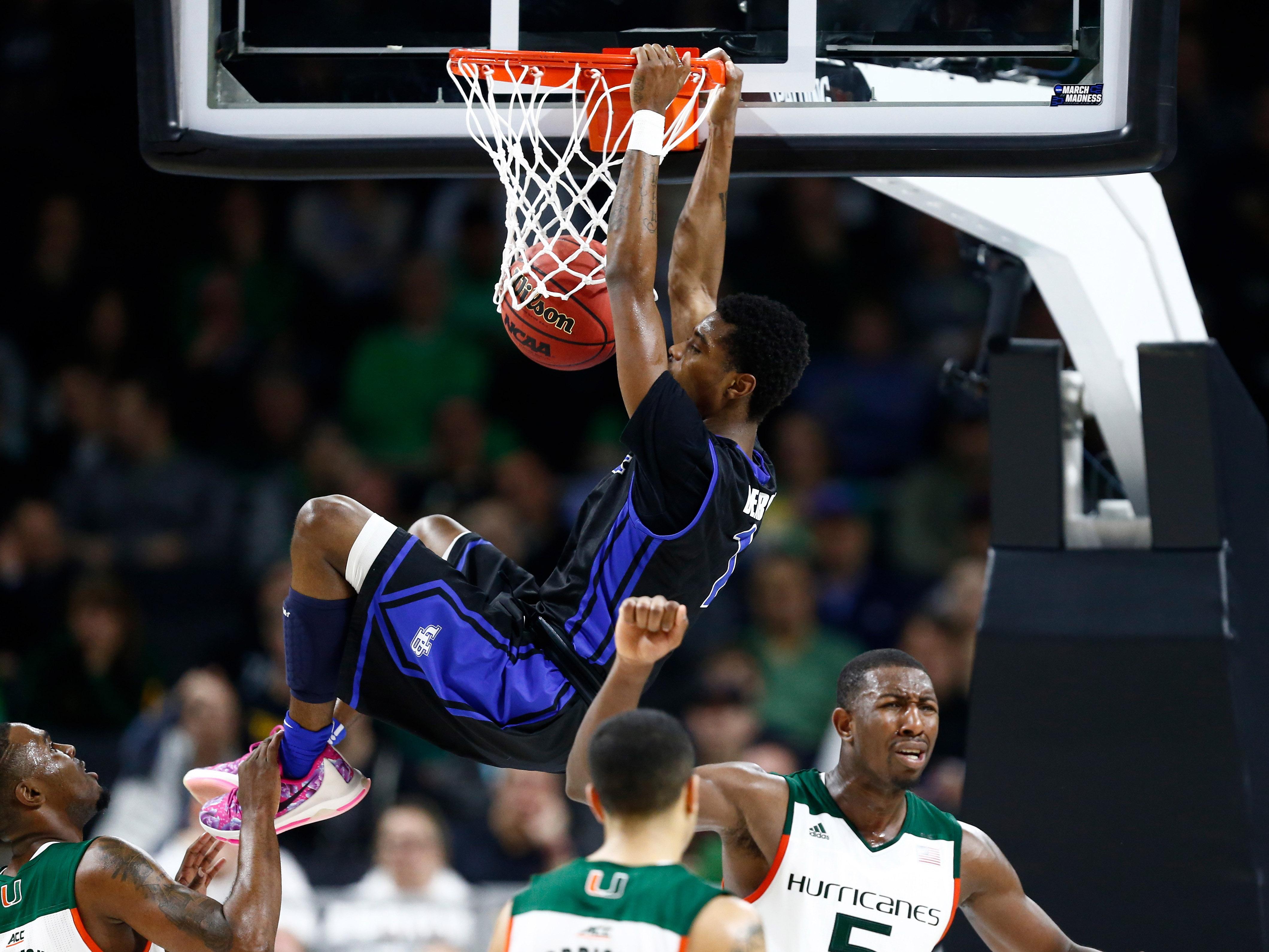 NCAA Basketball: NCAA Tournament- Miami vs Buffalo