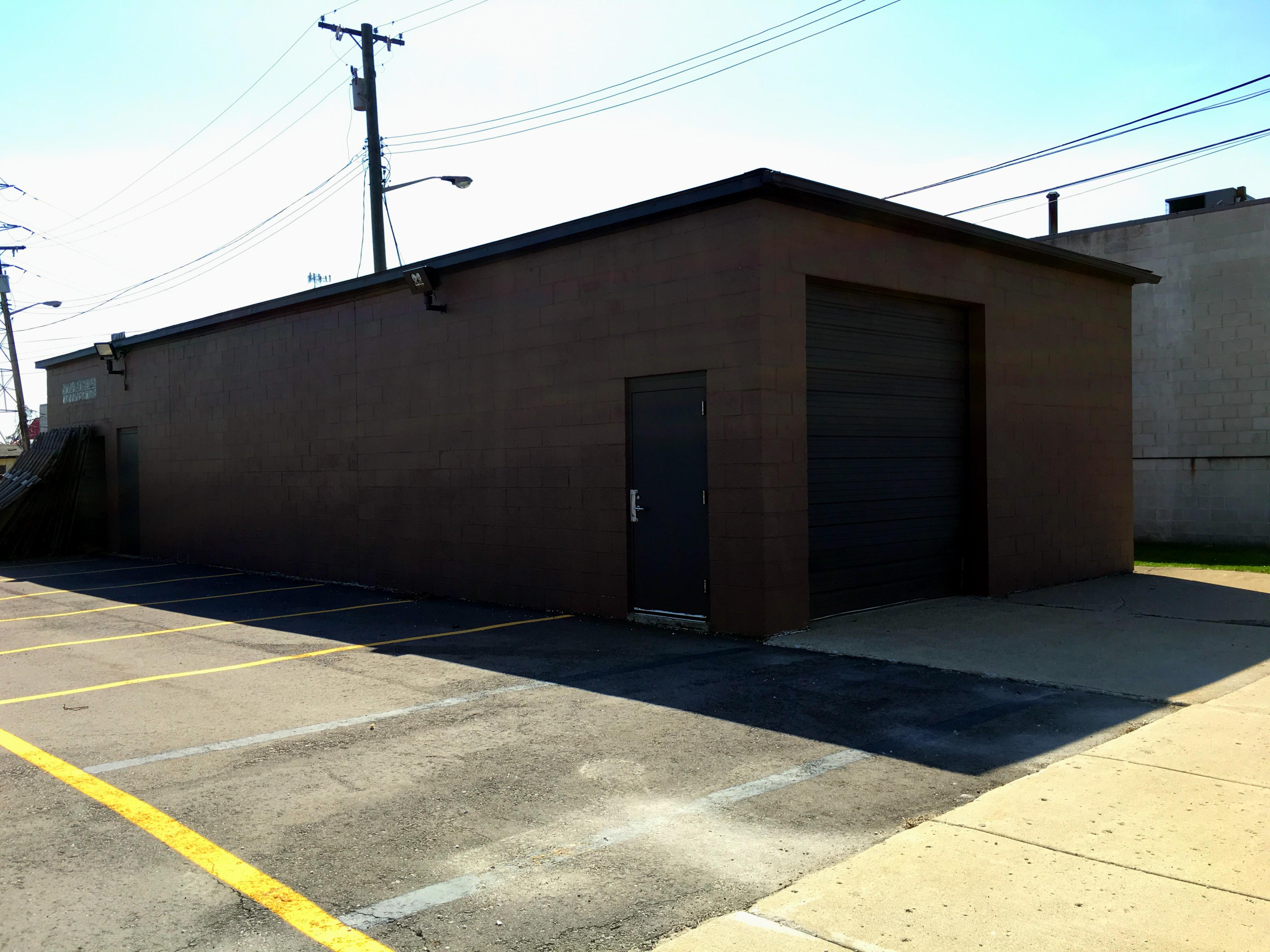 Brown building