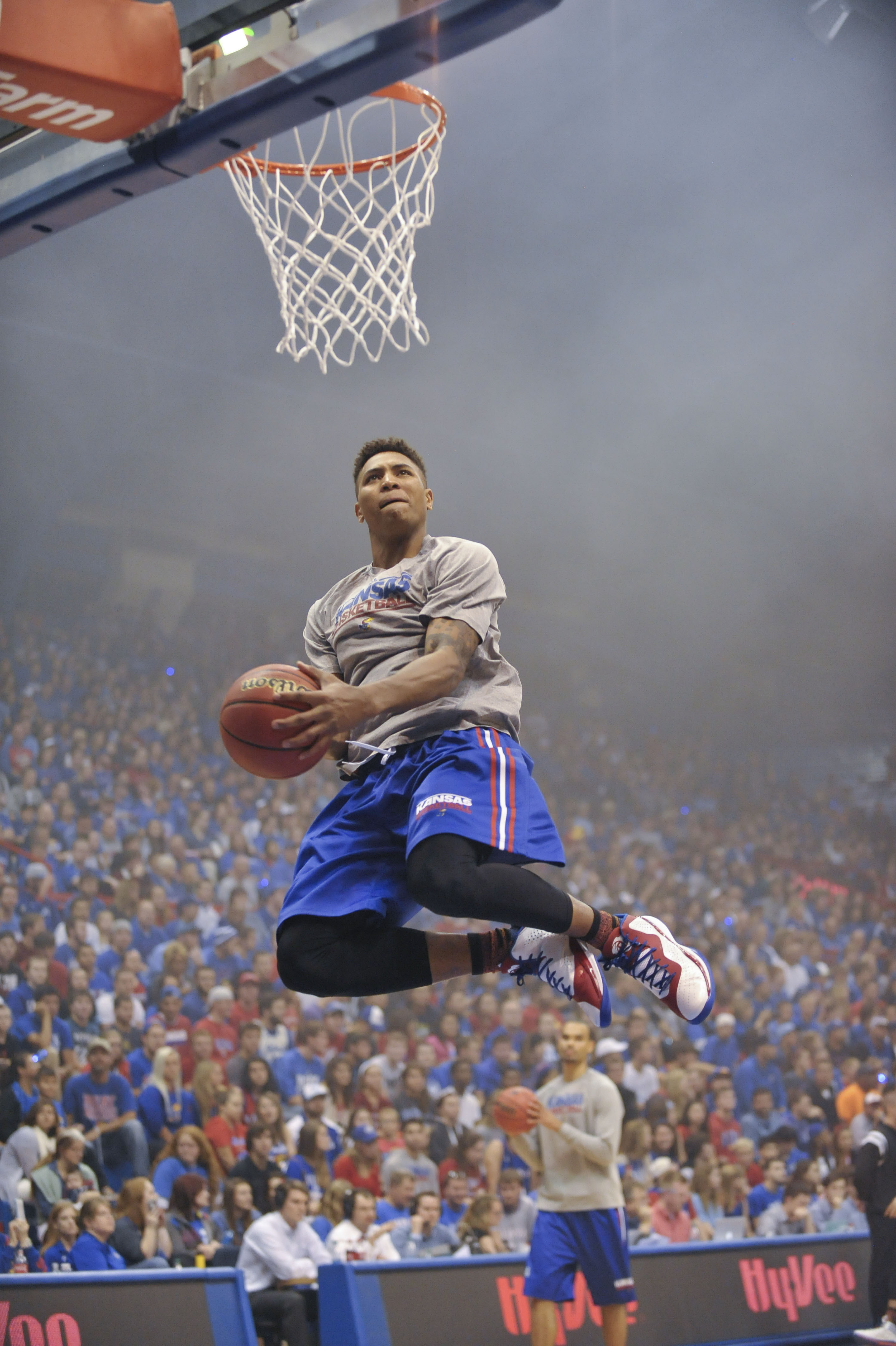 NCAA Basketball: Kansas-Late Night at the Phog