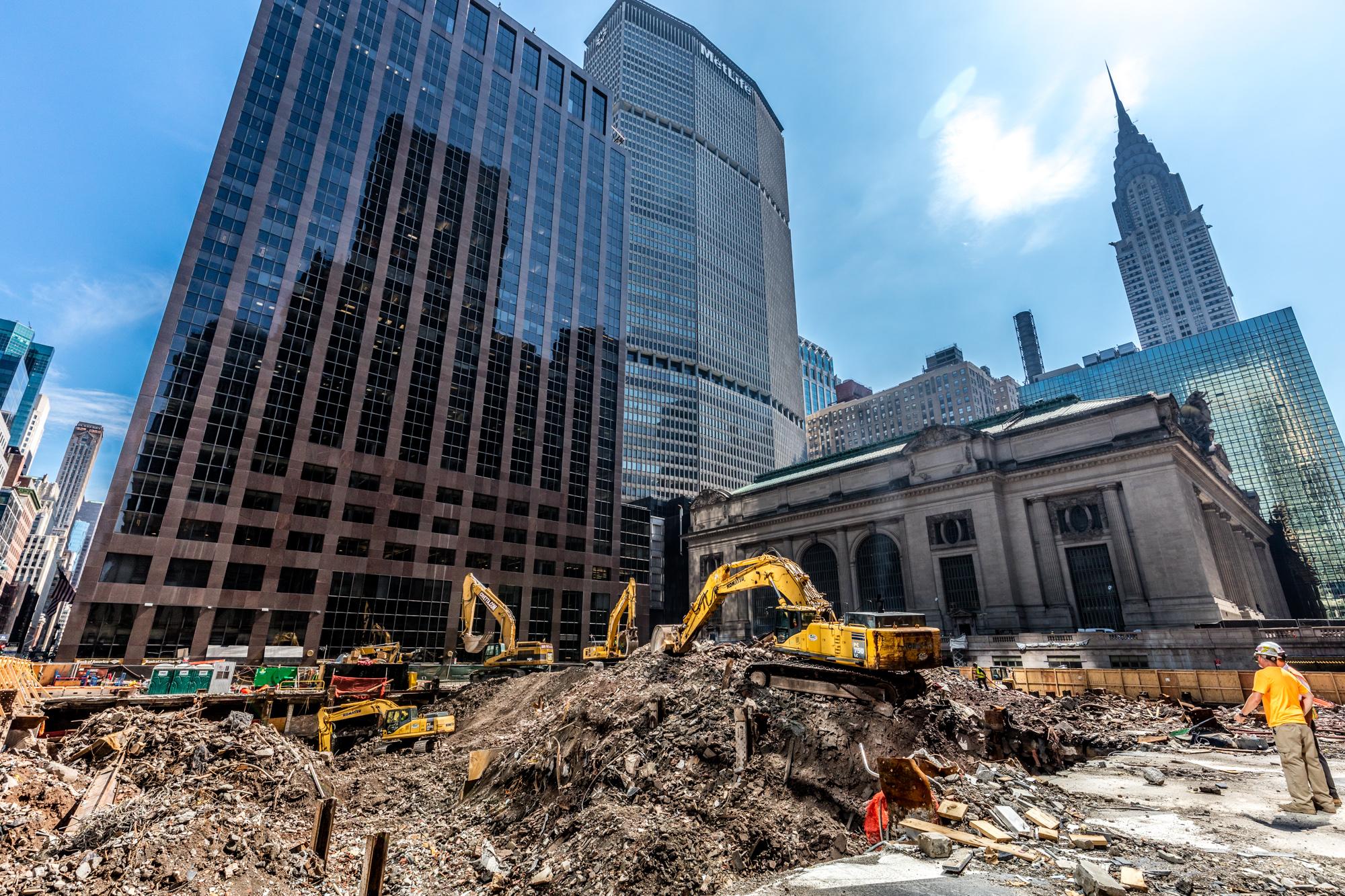 One Vanderbilt Construction - Max Touhey for SL Green