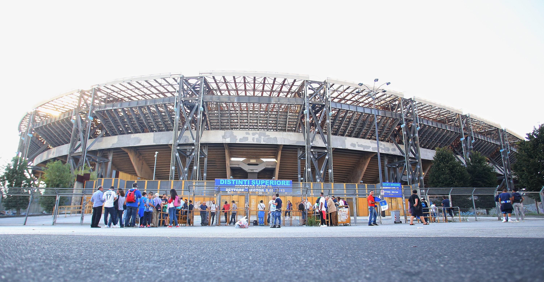 SSC Napoli v SL Benfica - UEFA Champions League