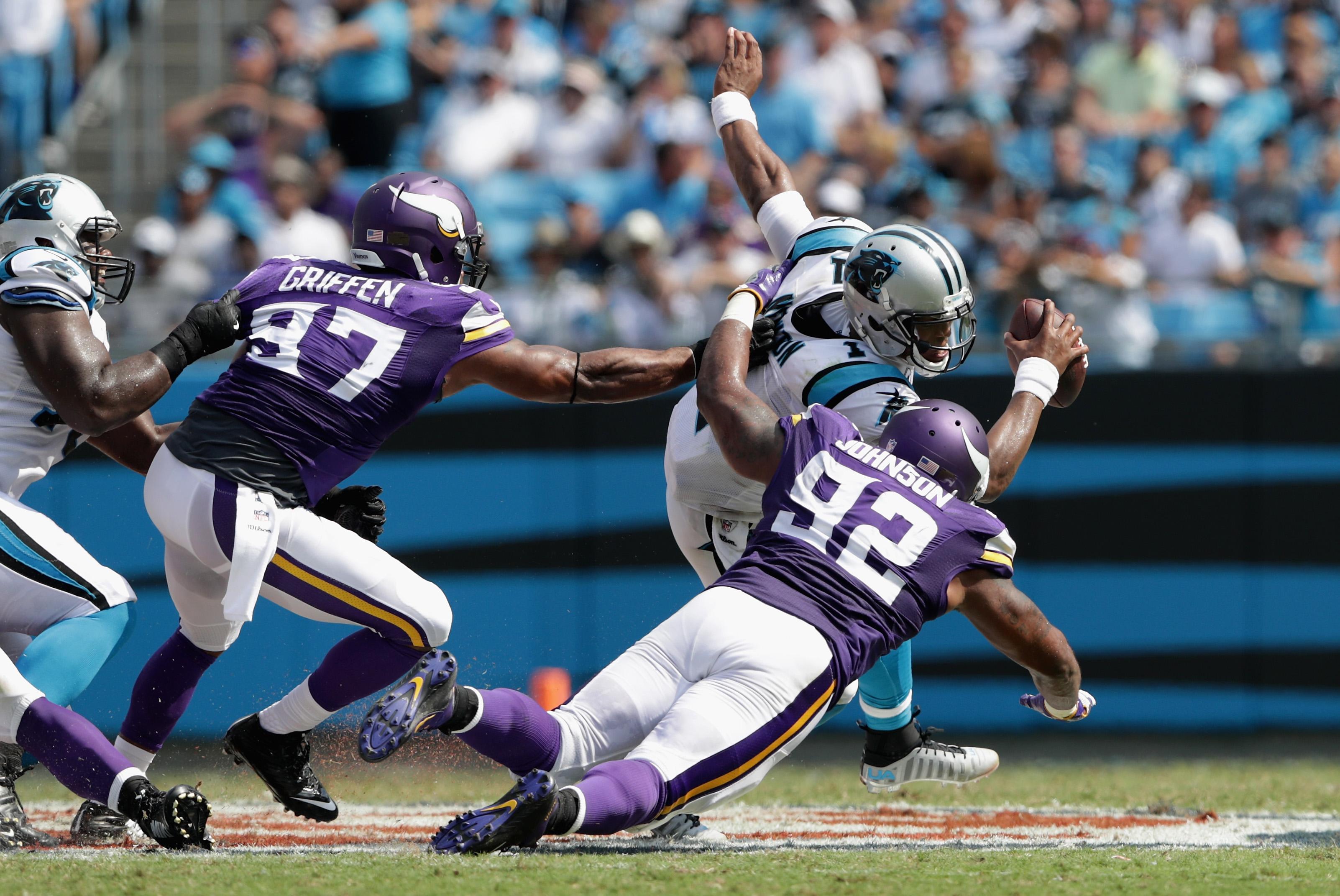 Minnesota Vikings v Carolina Panthers
