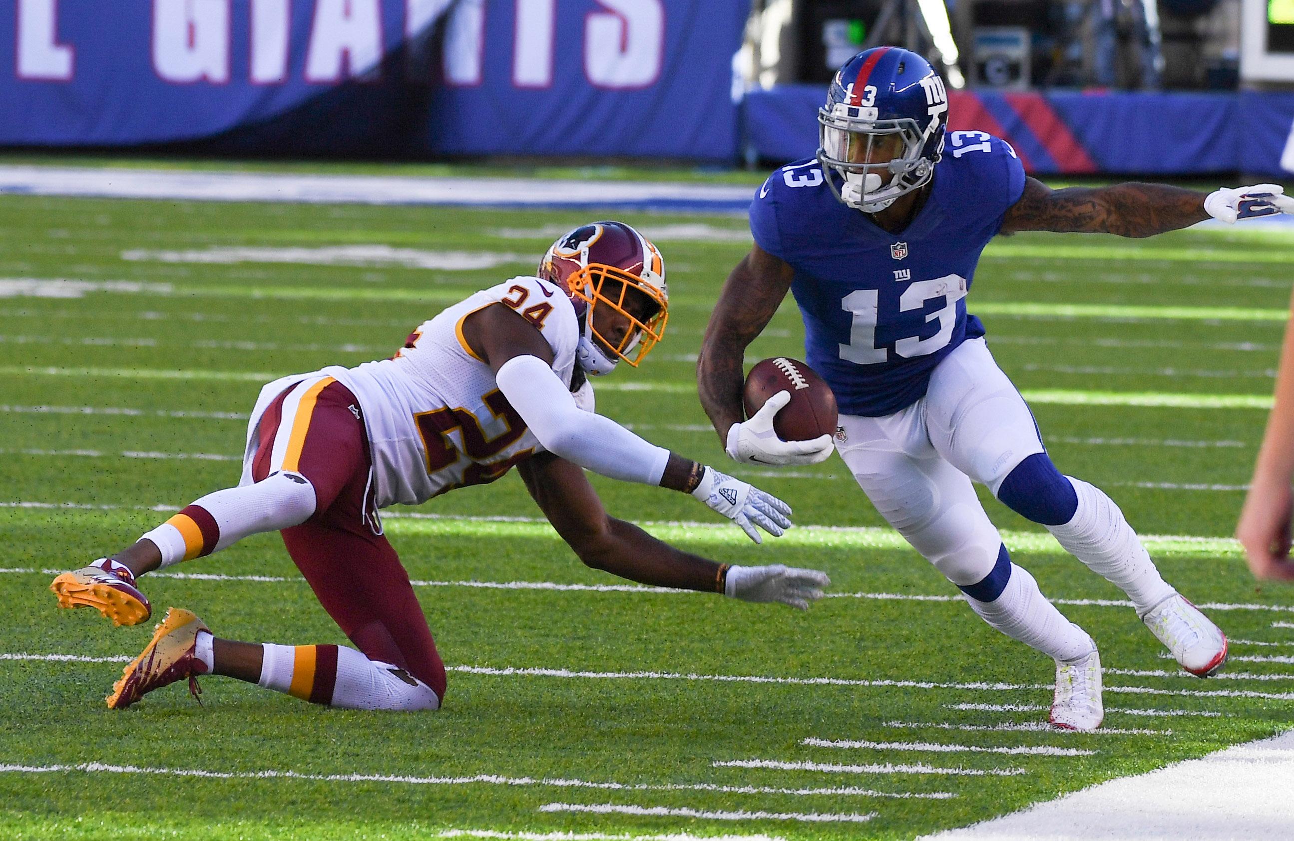 NFL: Washington Redskins at New York Giants