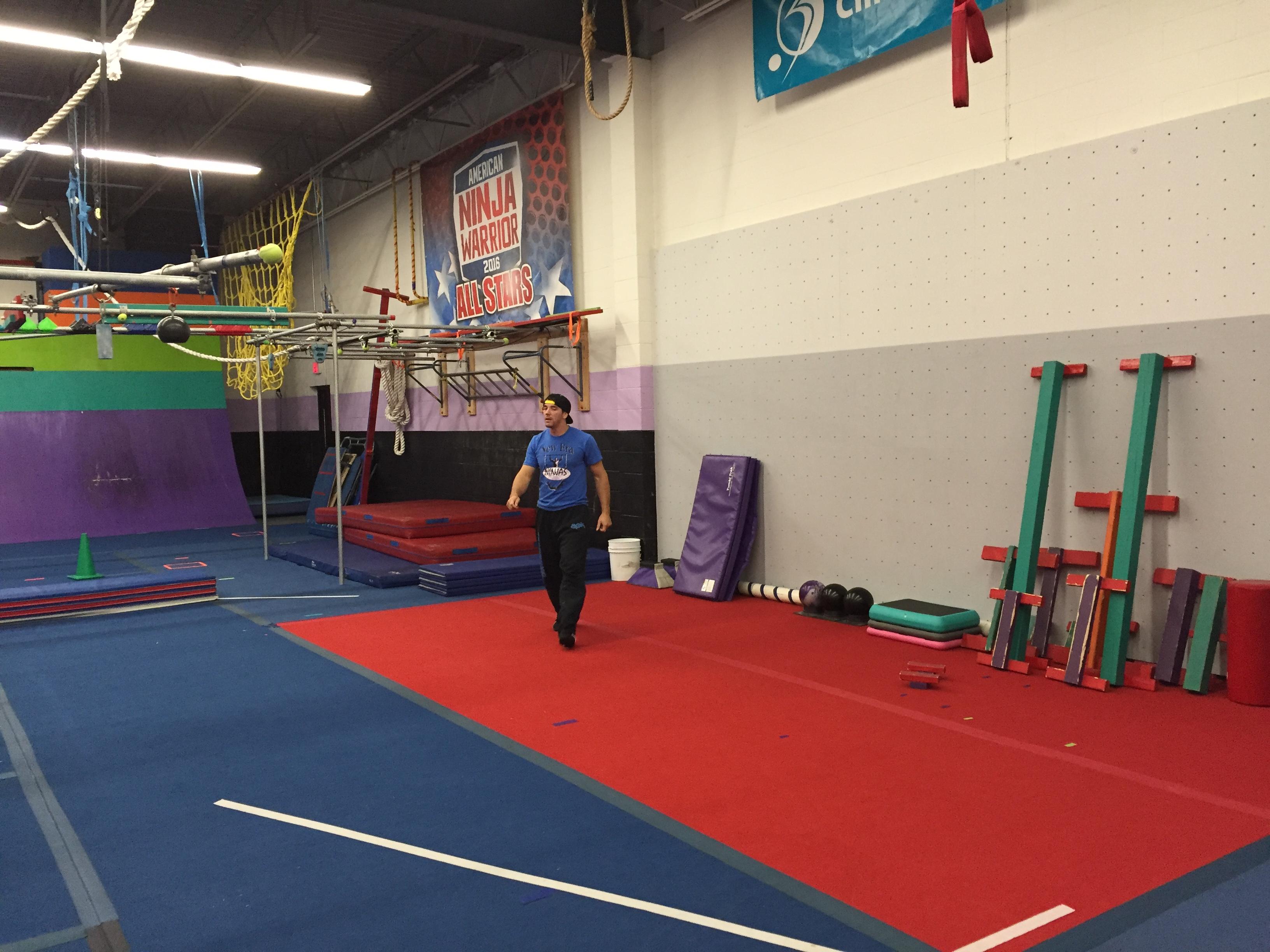 Little Ninjas are learning straight from American Ninja Warrior Drew  Drechsel at New Era Ninja 5aadae69323