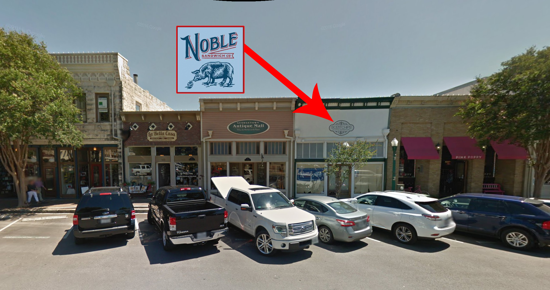 Noble Sandwich Co.'s new home in Georgetown