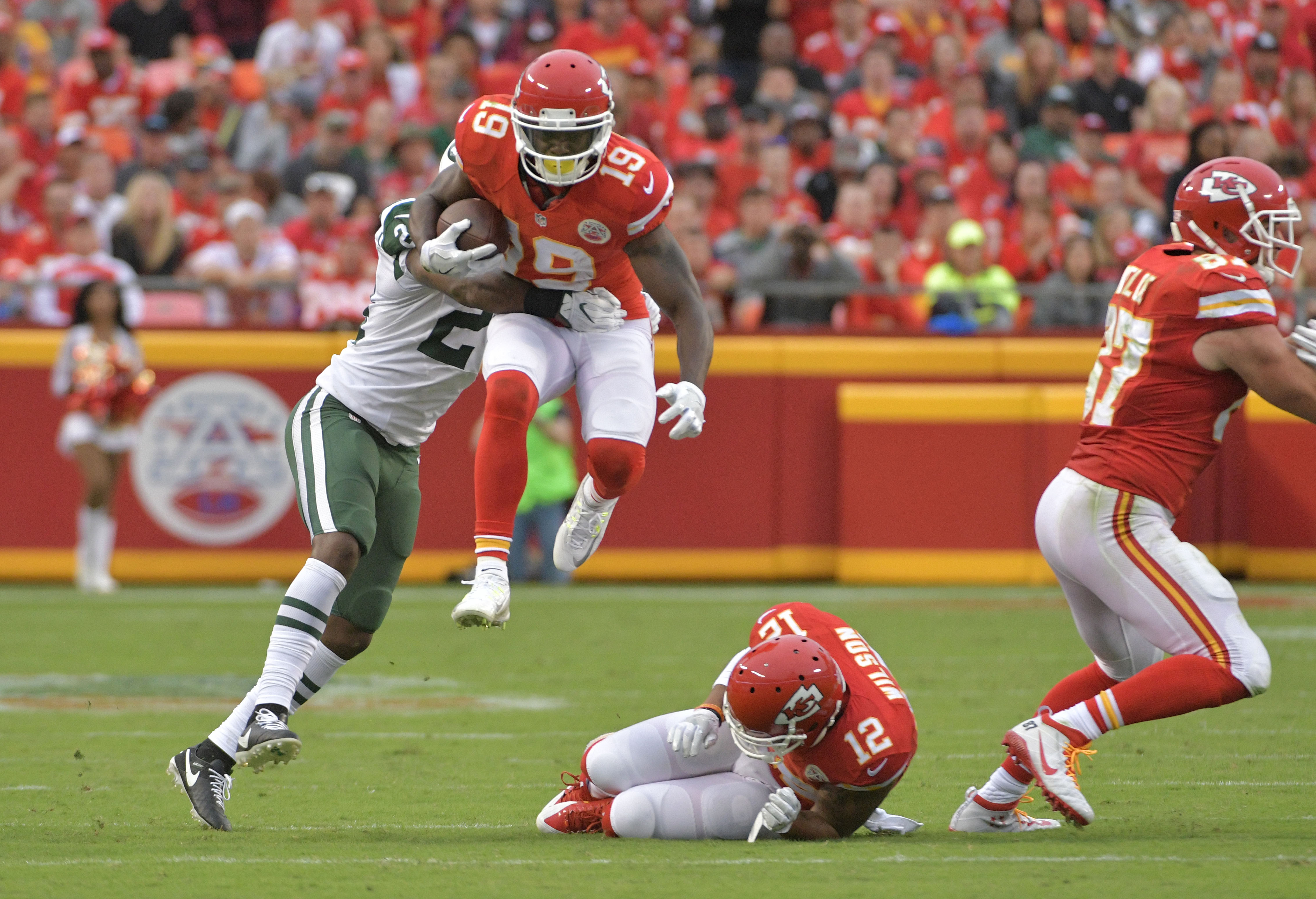 Remember. The Chiefs do have a receiver, and Maclin is a good one.