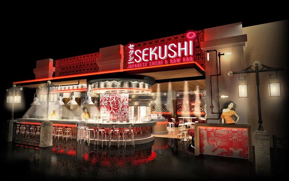 Sekushi Japanese & Raw Bar rendering