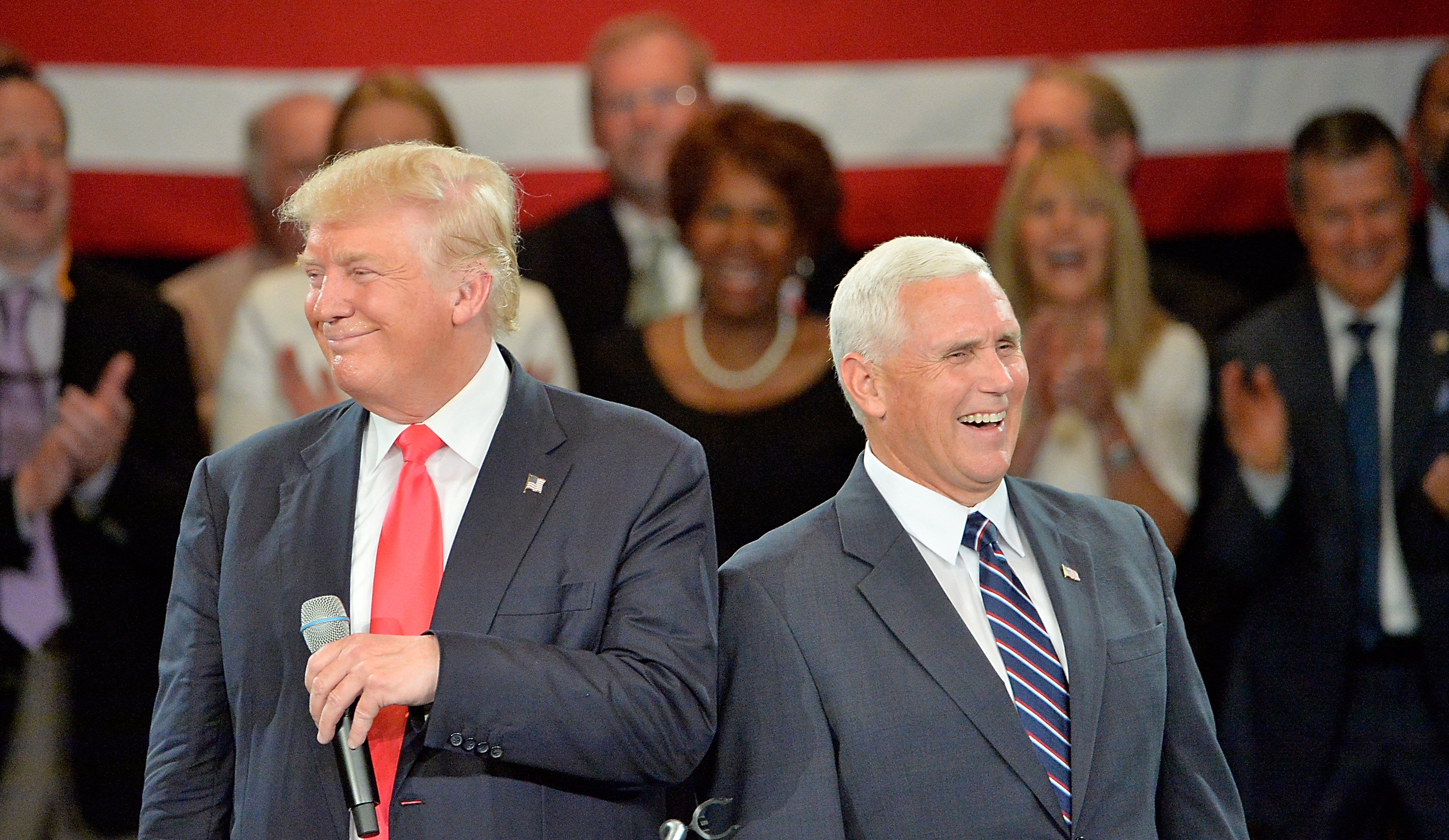 Mike Pence and Donald Trump disagree on a heck of a lot of issues