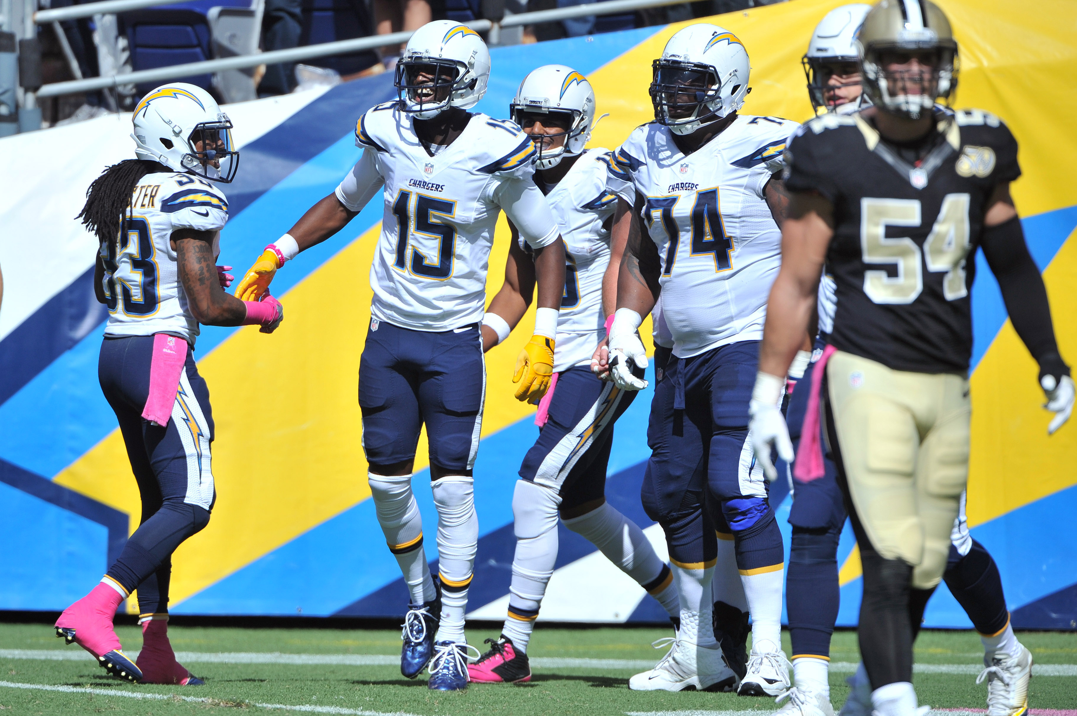 NFL: New Orleans Saints at San Diego Chargers