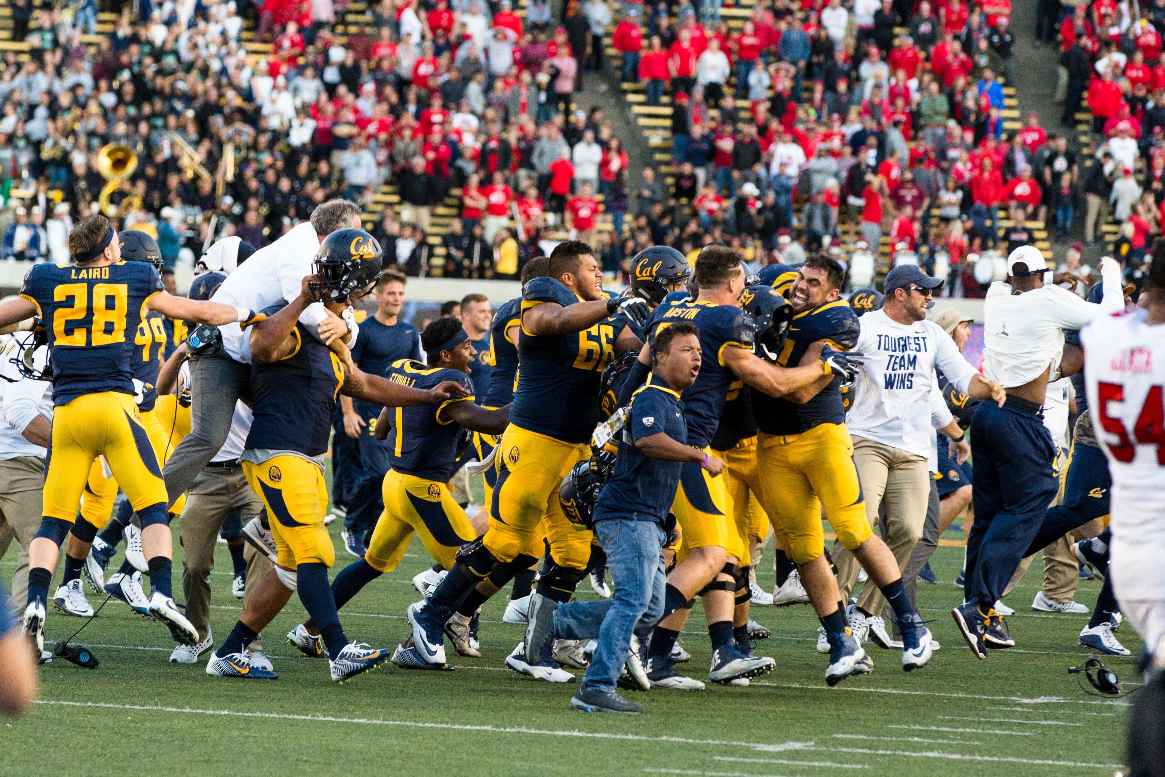 NCAA Football: Utah at California