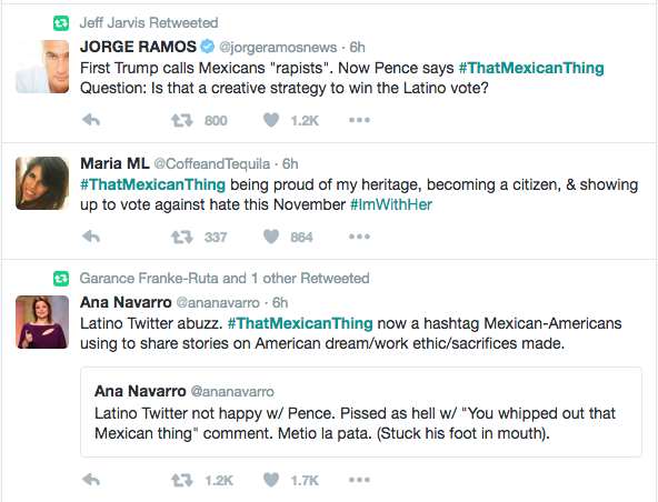 #thatMexicanThing Twitter hashtag