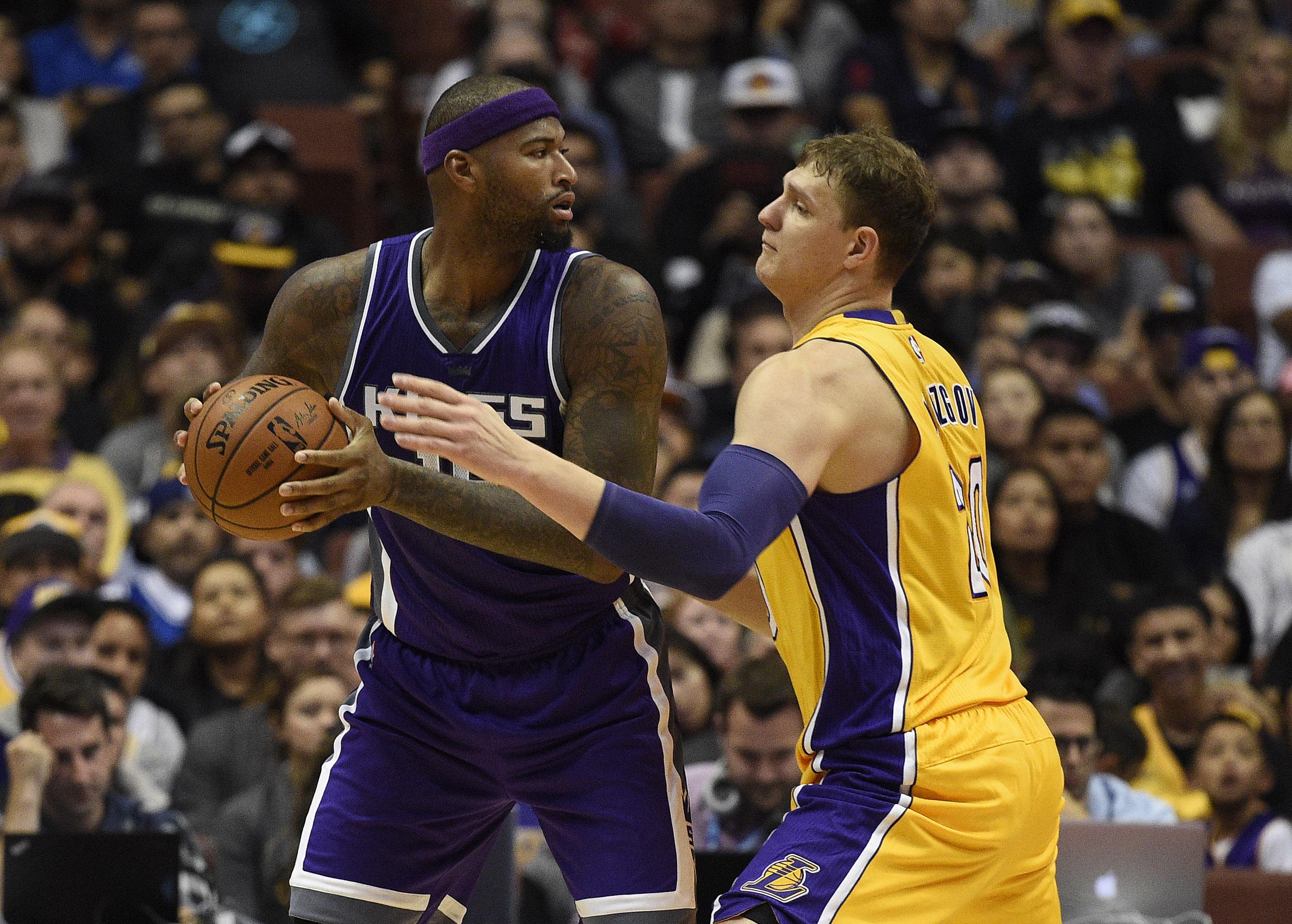 NBA: Preseason-Los Angeles Lakers at Sacramento Kings