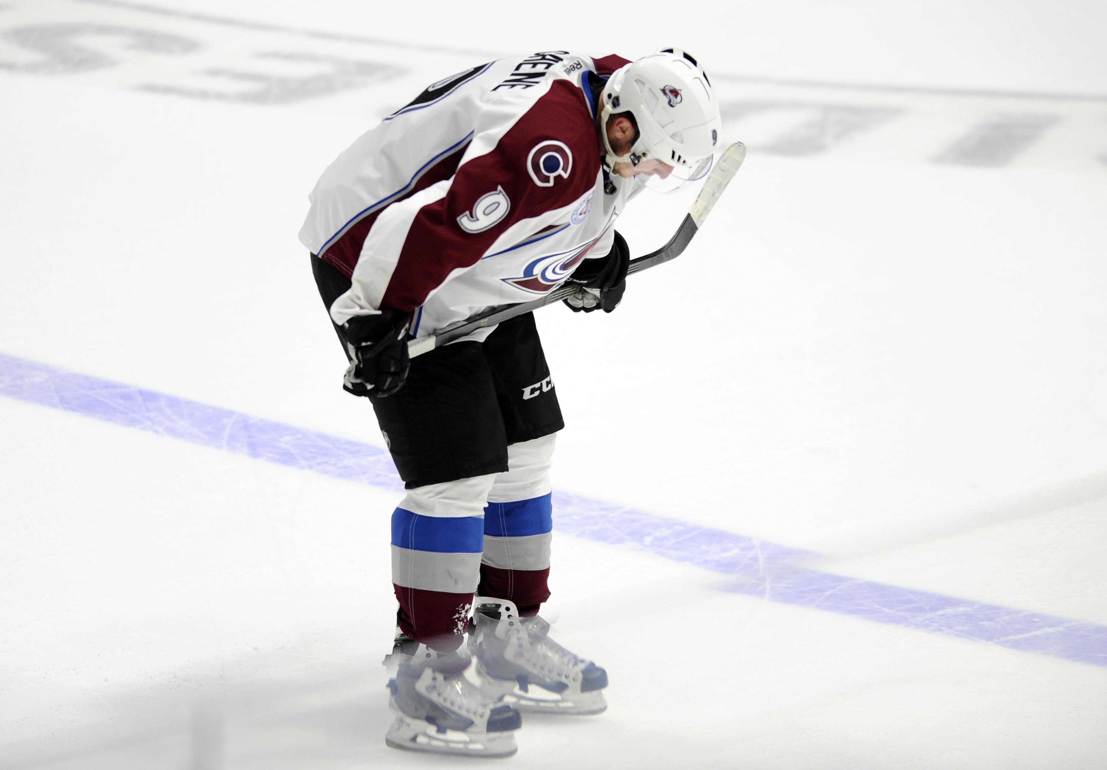 NHL: Colorado Avalanche at Nashville Predators