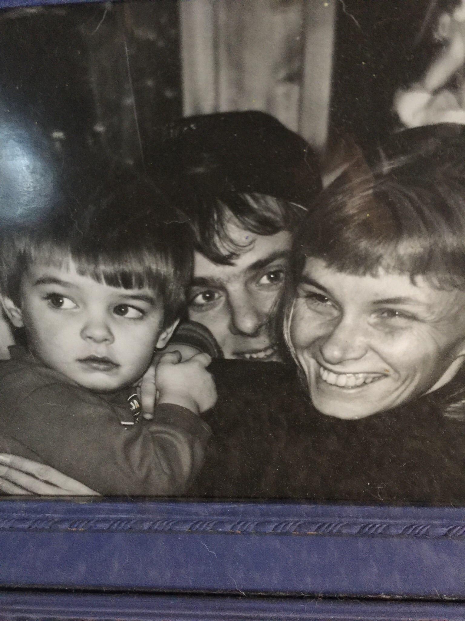 David, Kelly and Tracy Rutherford.