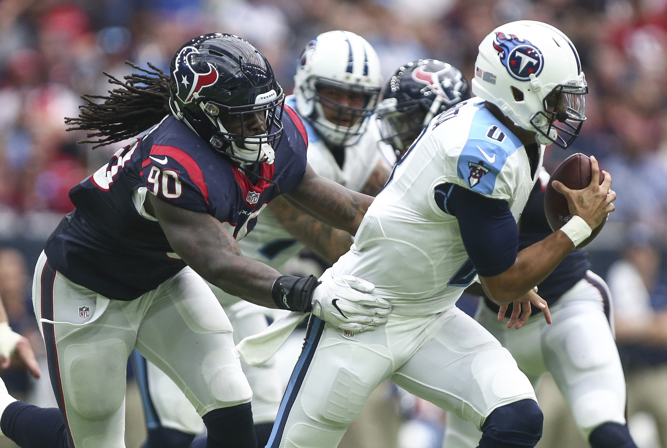 Seeing a bit of this from Clowney on Bradford today would bode well.
