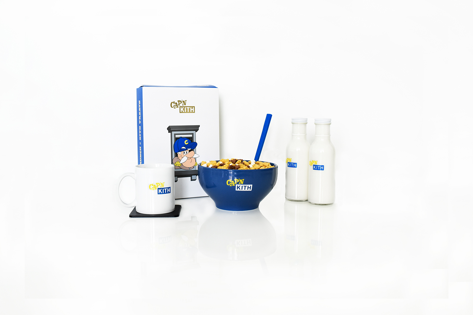 Limited edition Cap'n Kith cereal