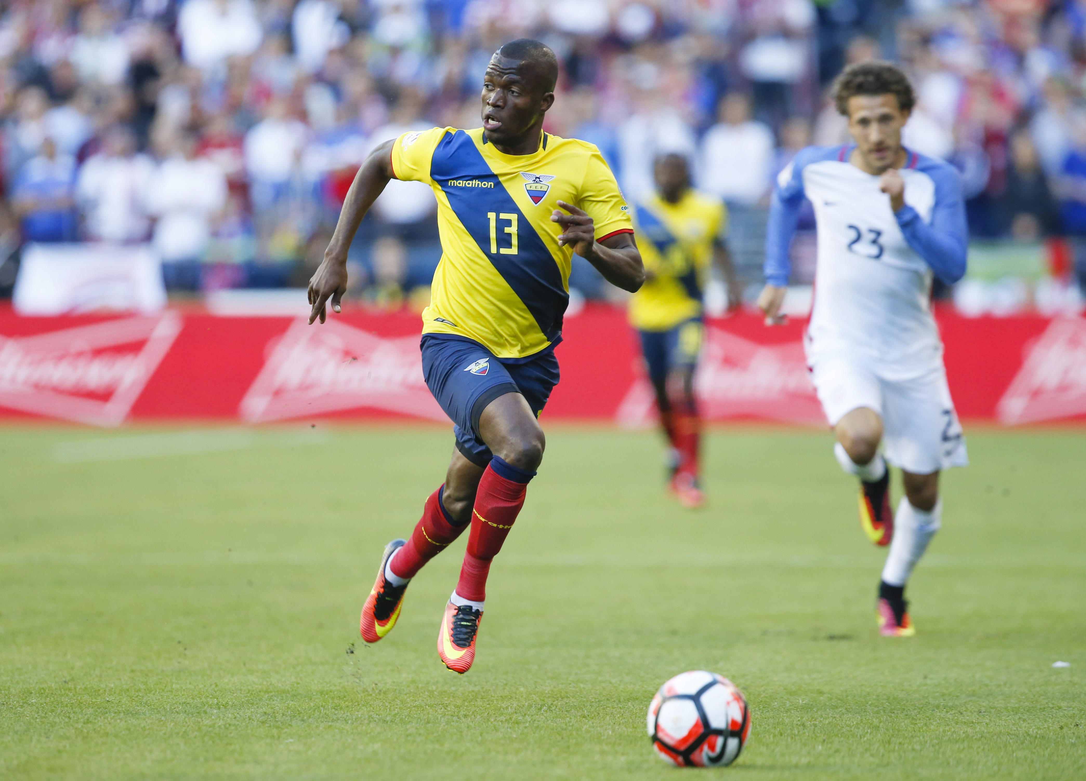 Soccer: 2016 Copa America Centenario-Ecuador  at USA
