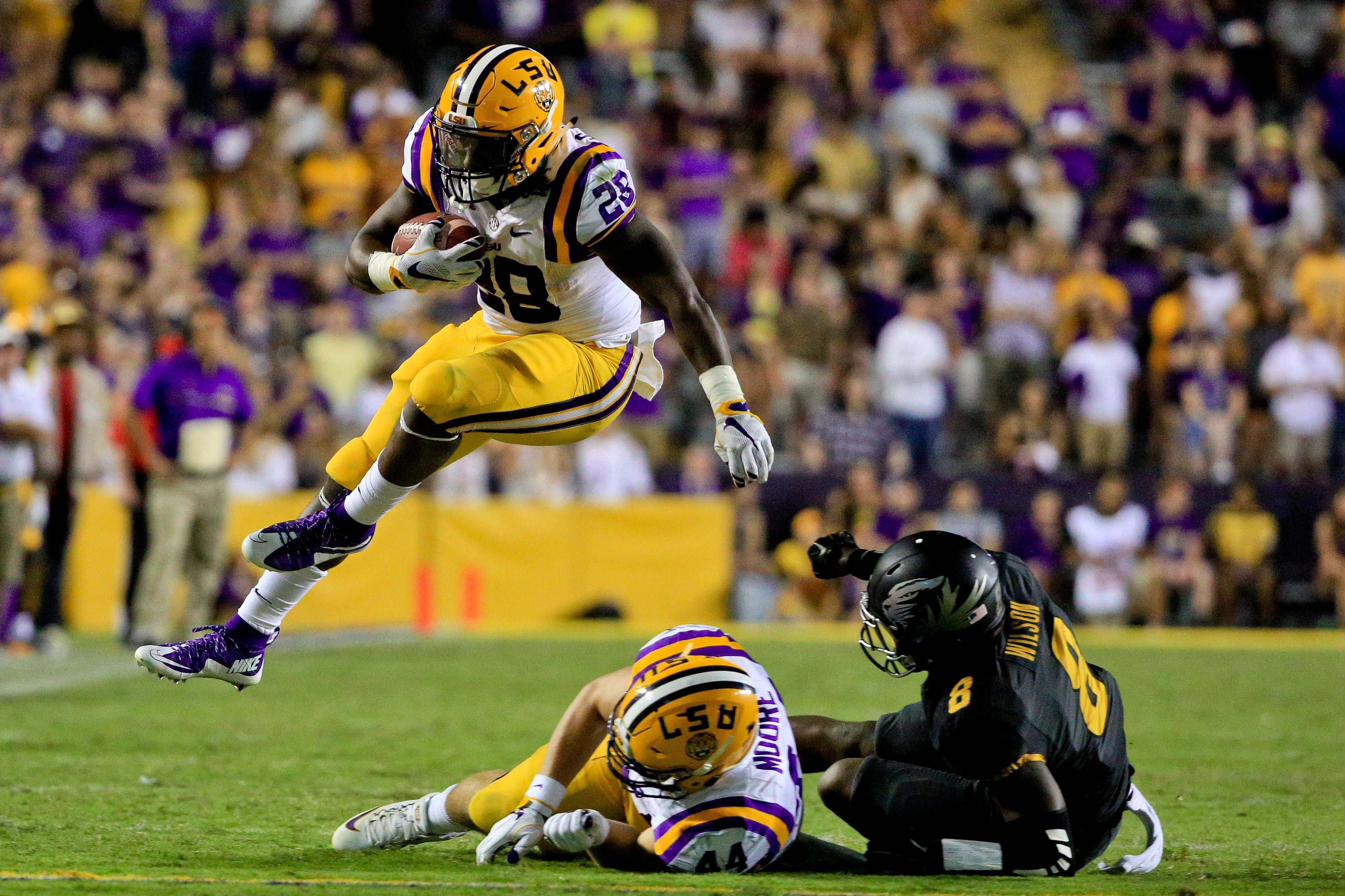 NCAA Football: Missouri at Louisiana State