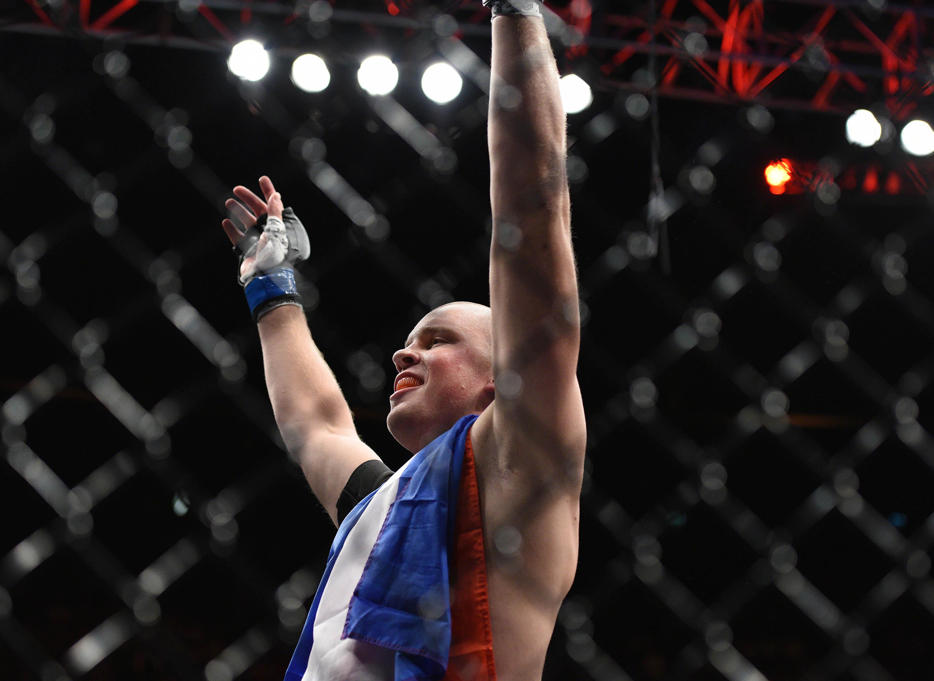 MMA: UFC Fight Night-Silva vs Struve