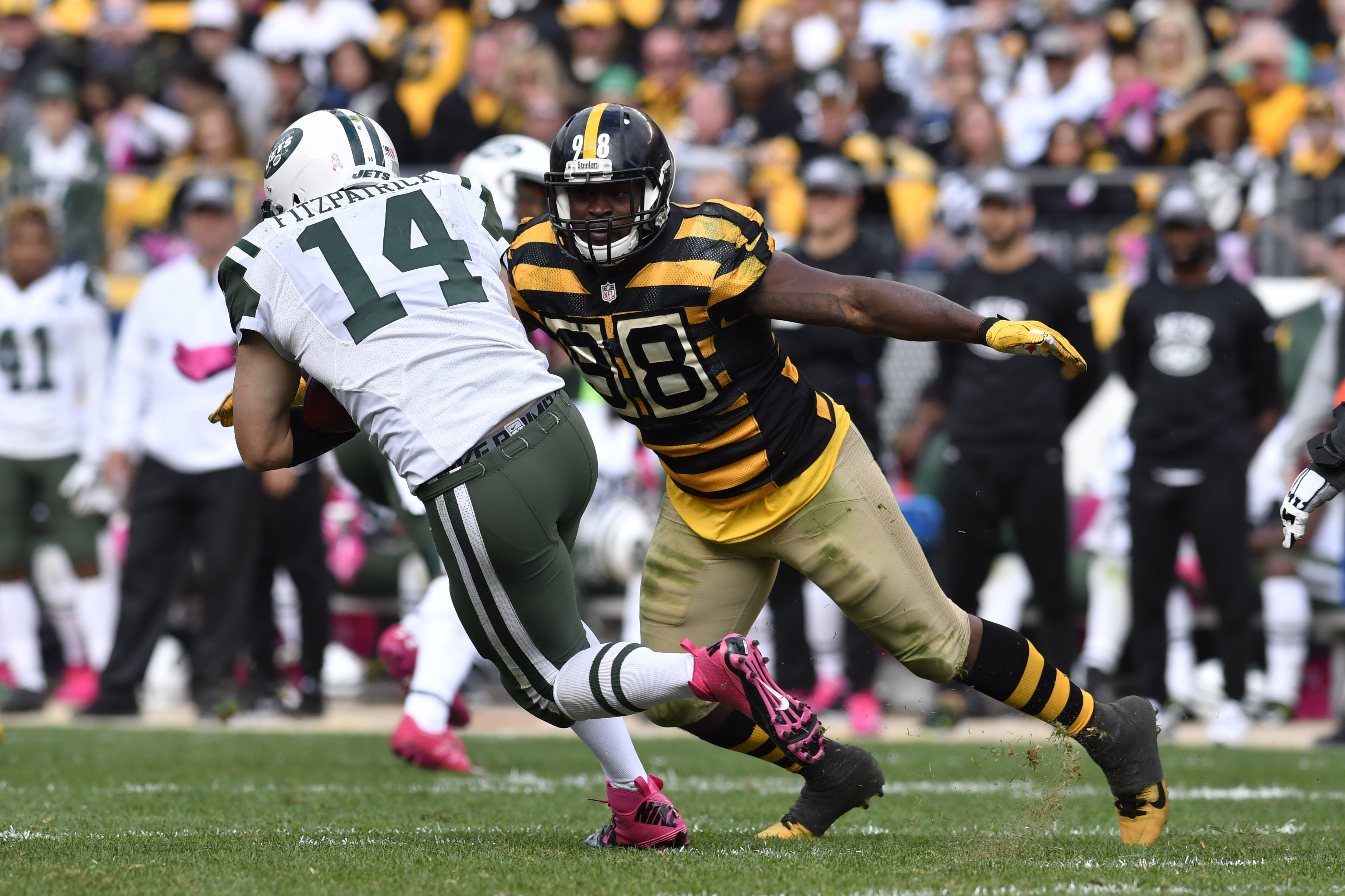 e2edb236499 Photos Jets vs Steelers Pittsburgh steelers Le veon bell and Jets