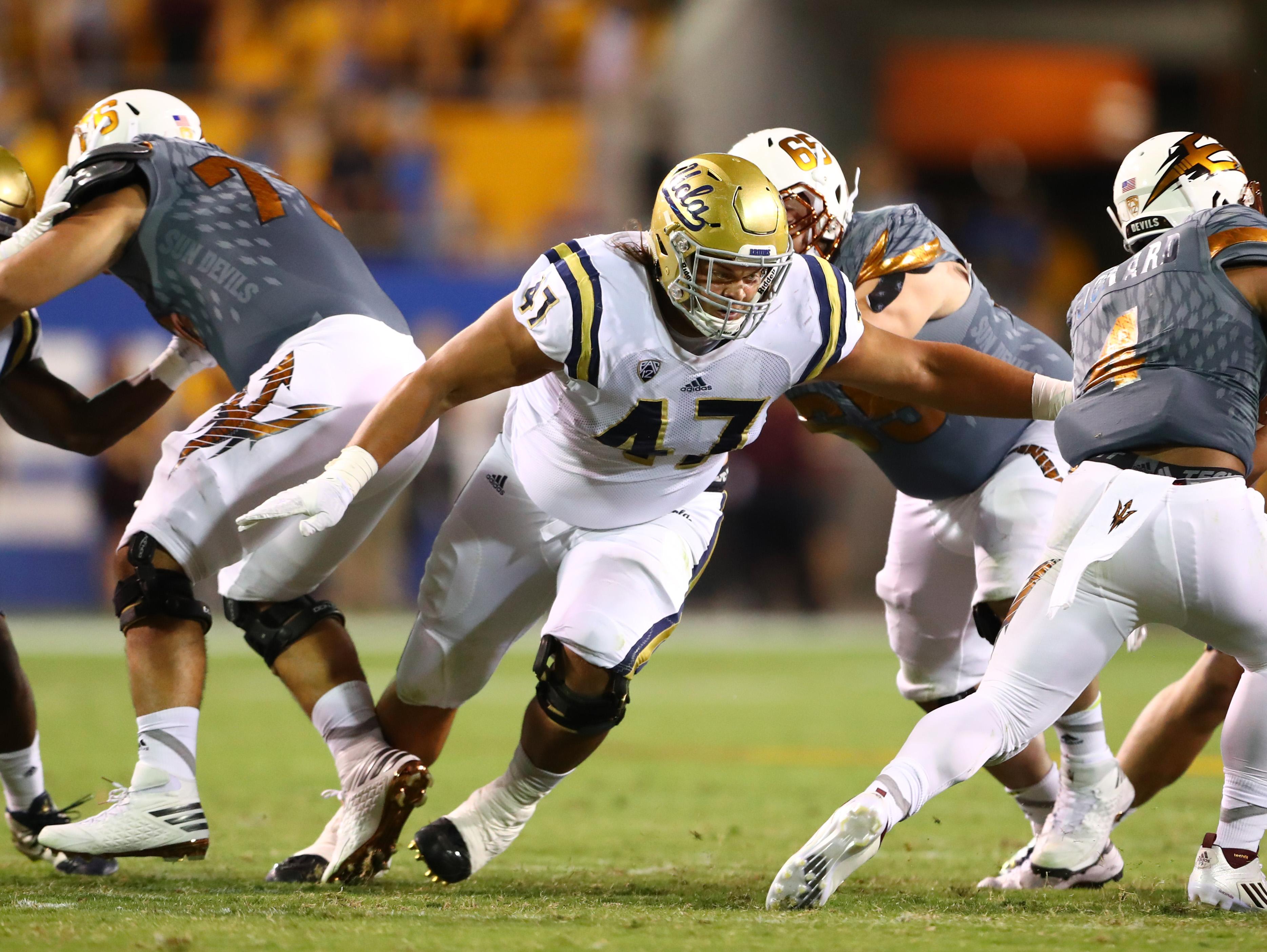 NCAA Football: UCLA at Arizona State