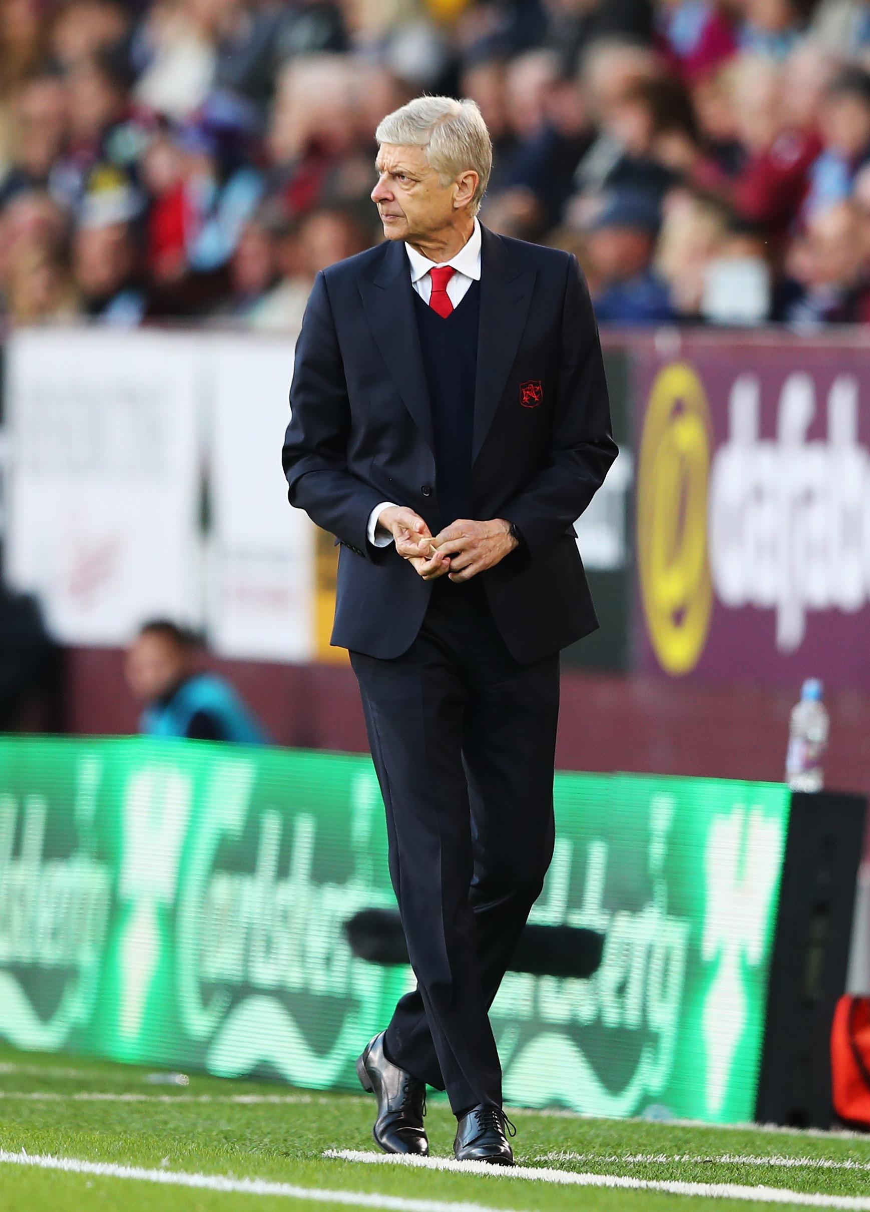 Arsenal Manager Arsène Wenger