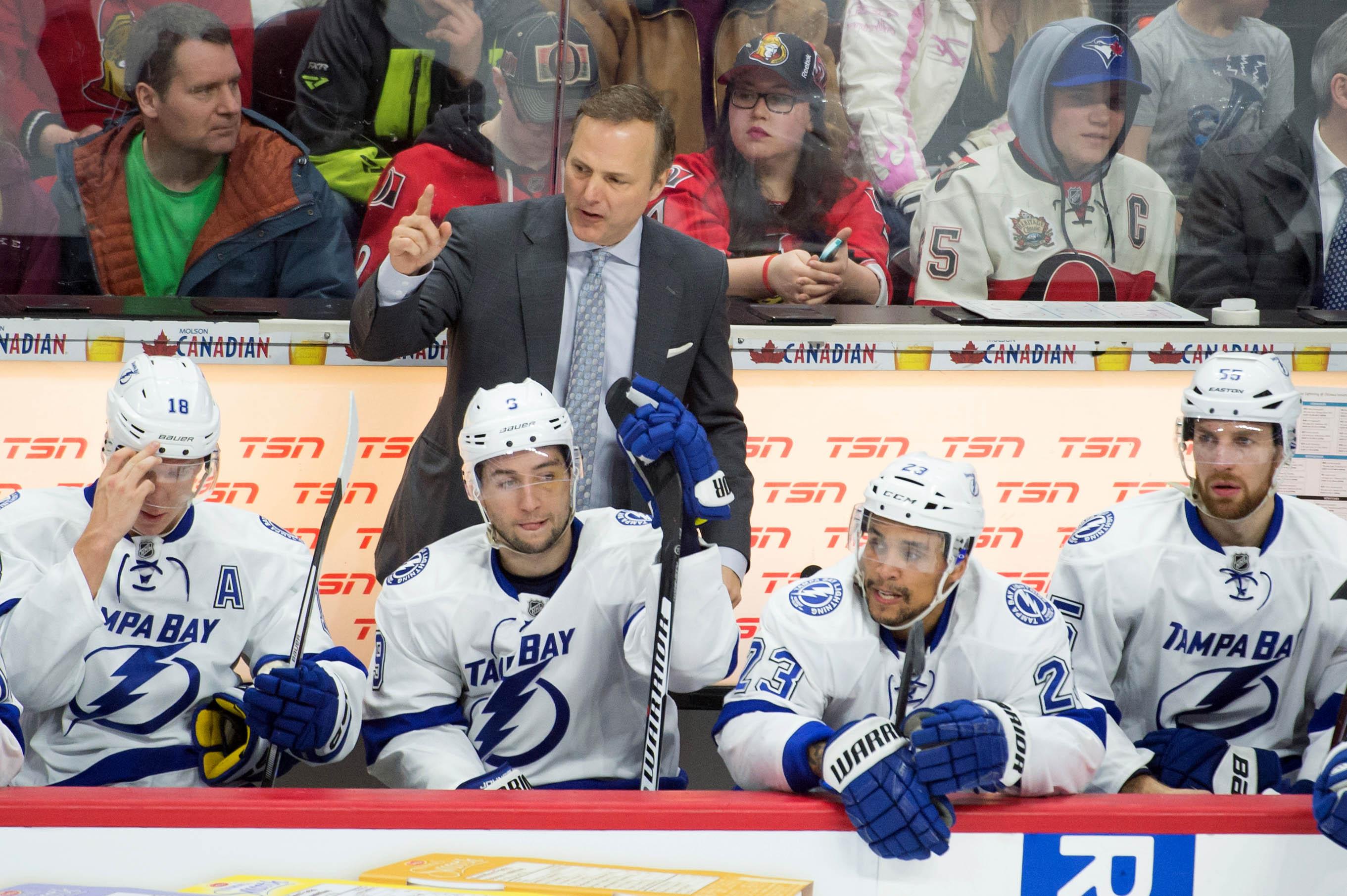 NHL: Tampa Bay Lightning at Ottawa Senators
