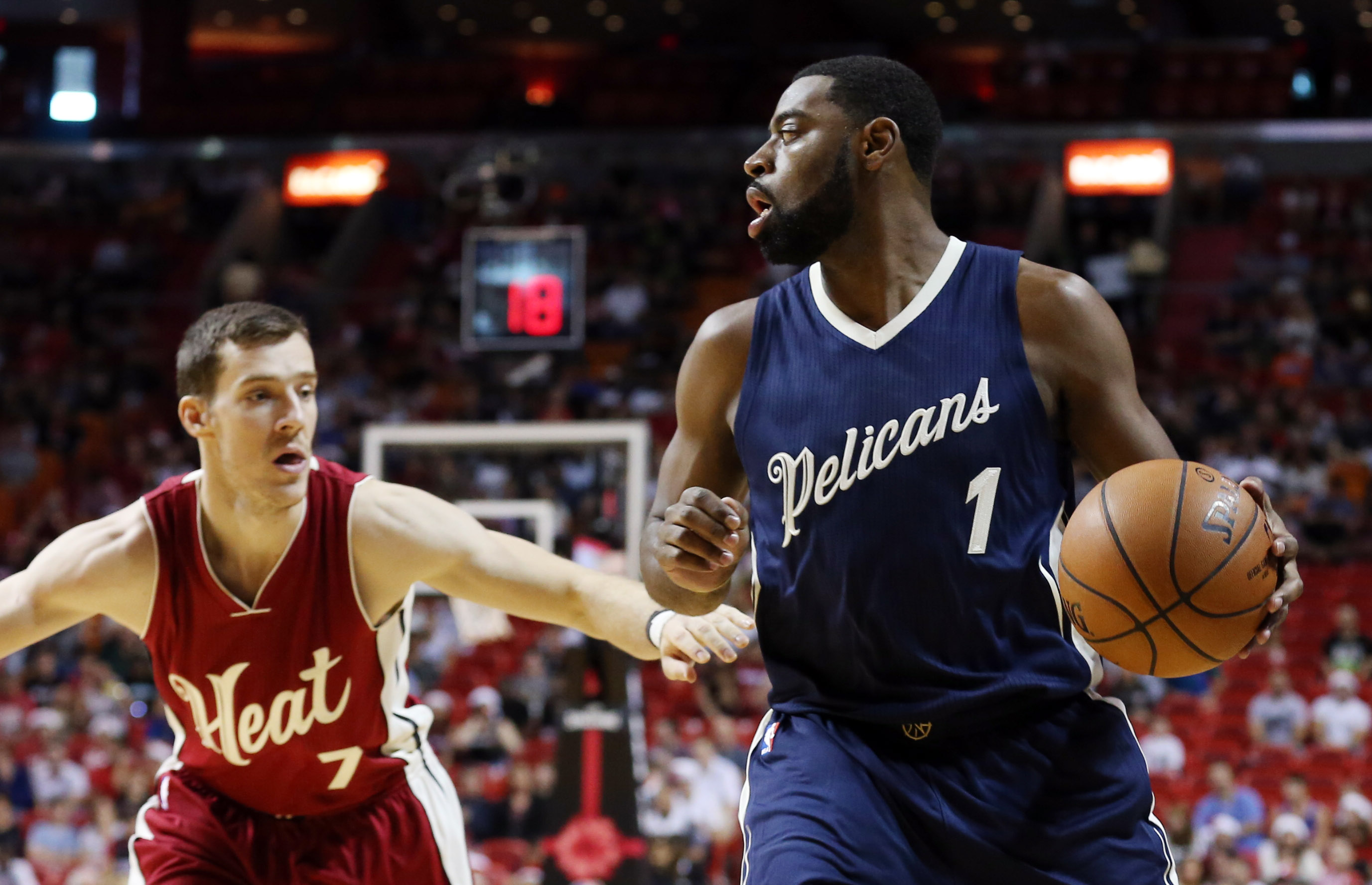 NBA: New Orleans Pelicans at Miami Heat