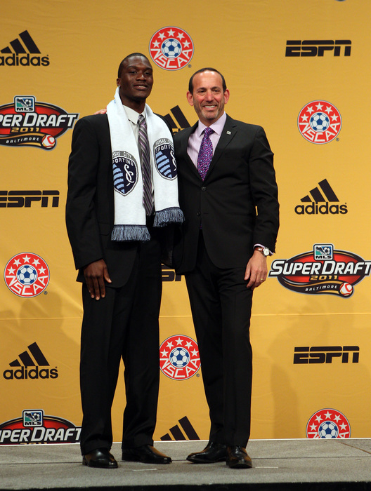 CJ and the Don at the 2011 MLS SuperDraft.