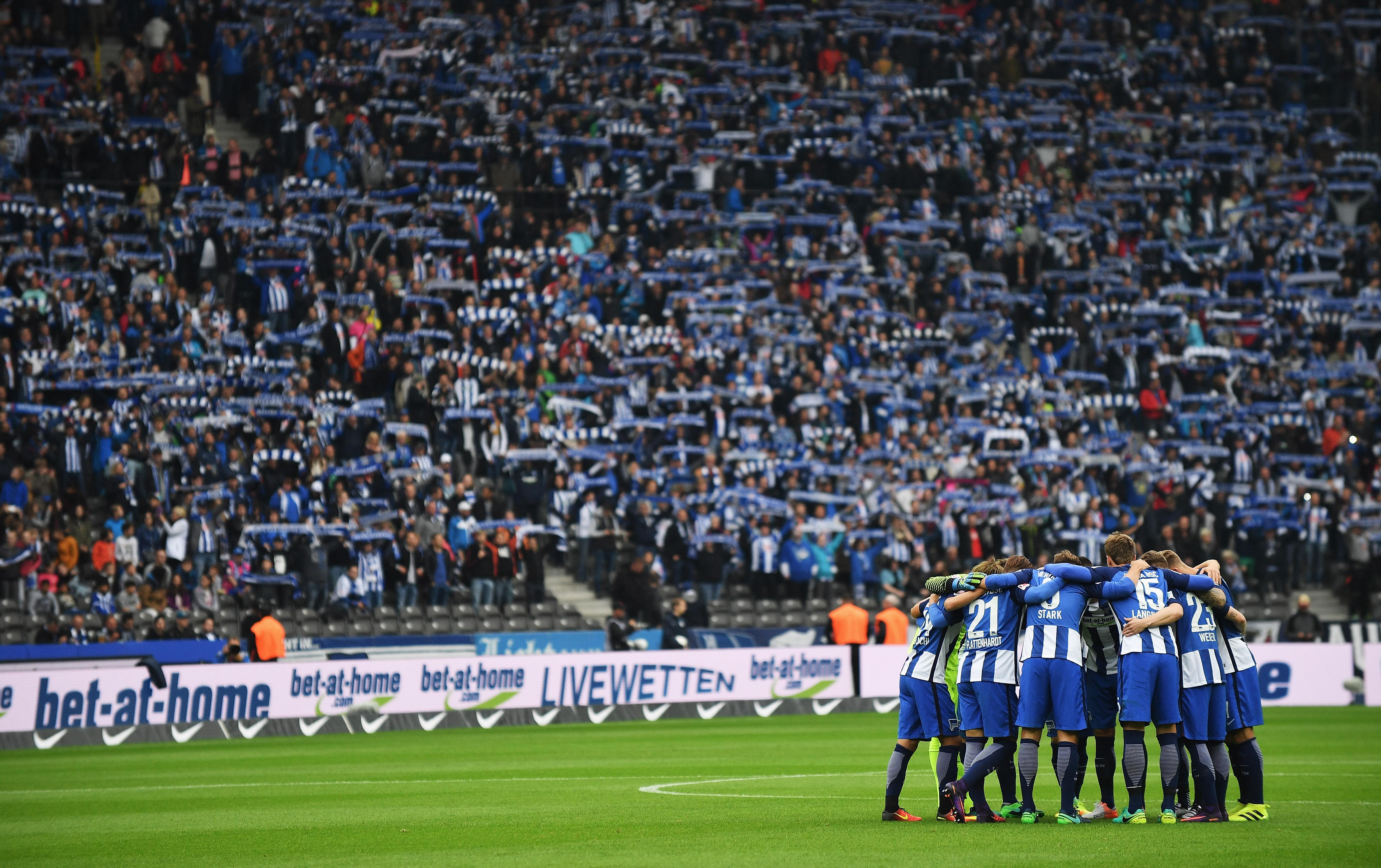 Hertha BSC v Hamburger SV - Bundesliga