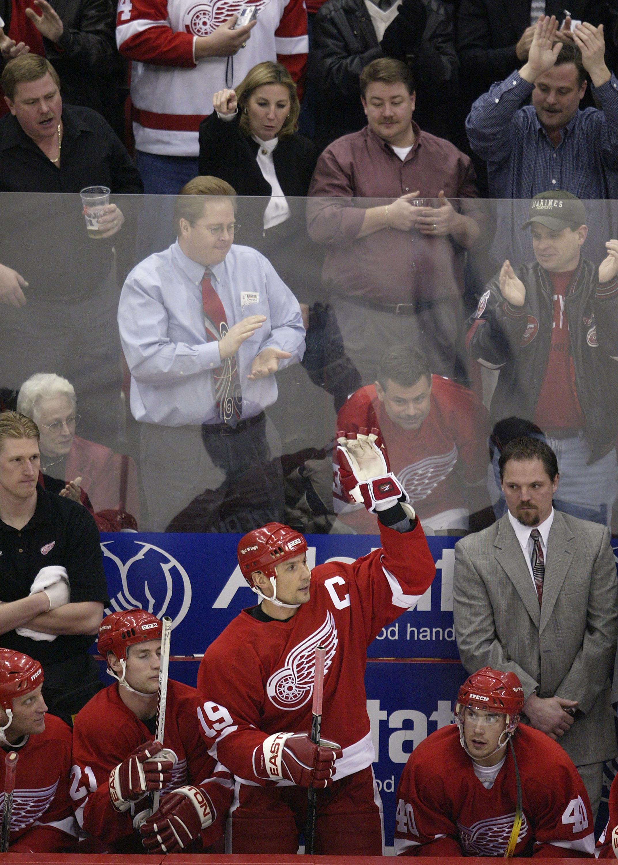 Devils v Red Wings