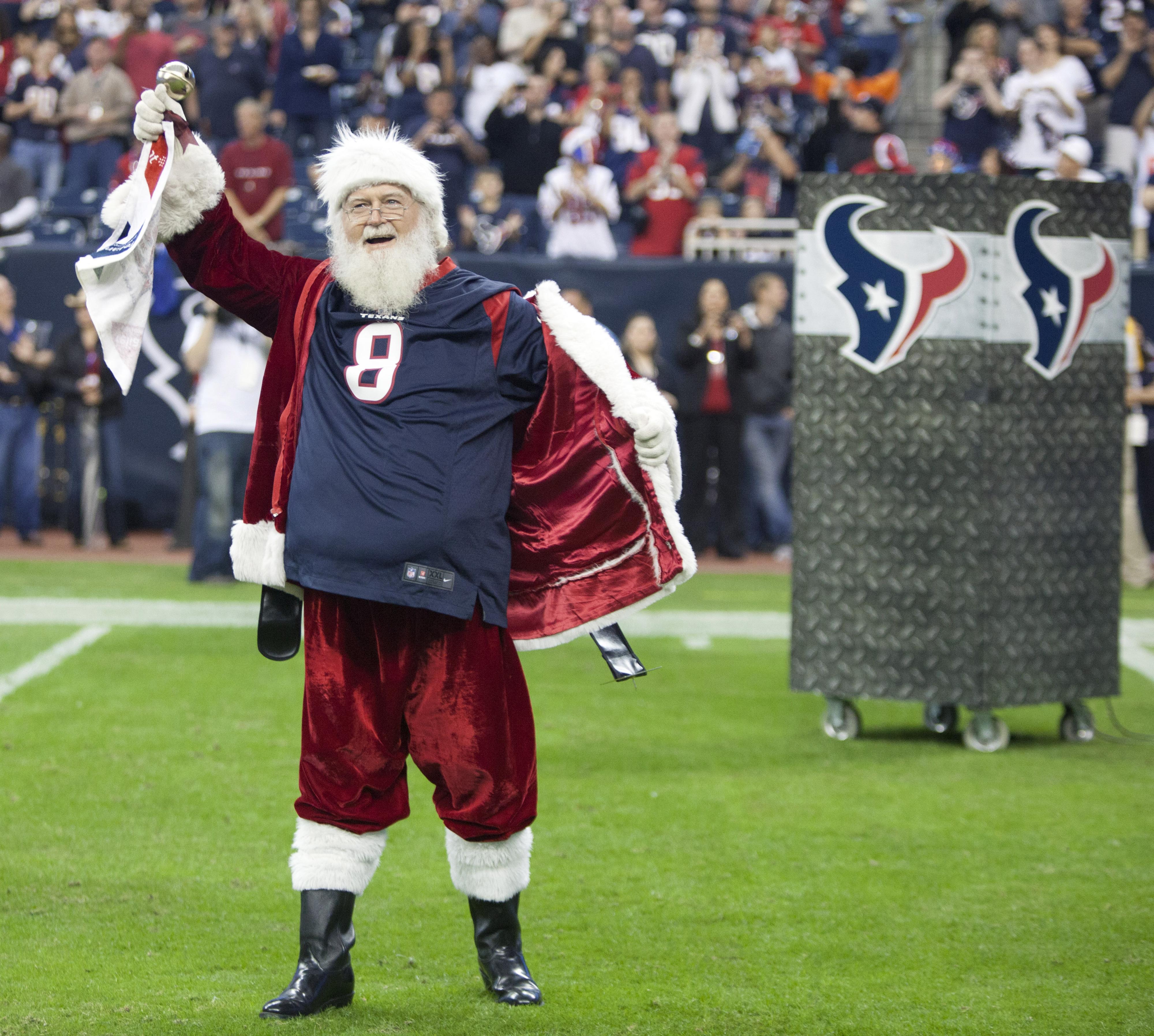 The Texans Gave Santa a Divisional Present This Year