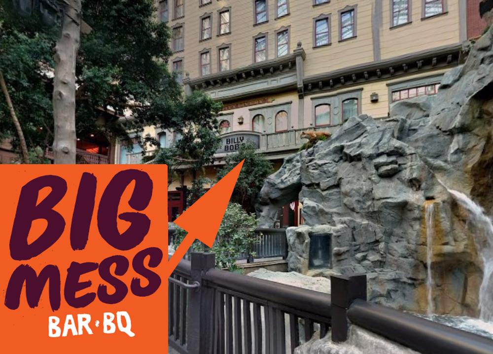 Big Mess Bar-BQ