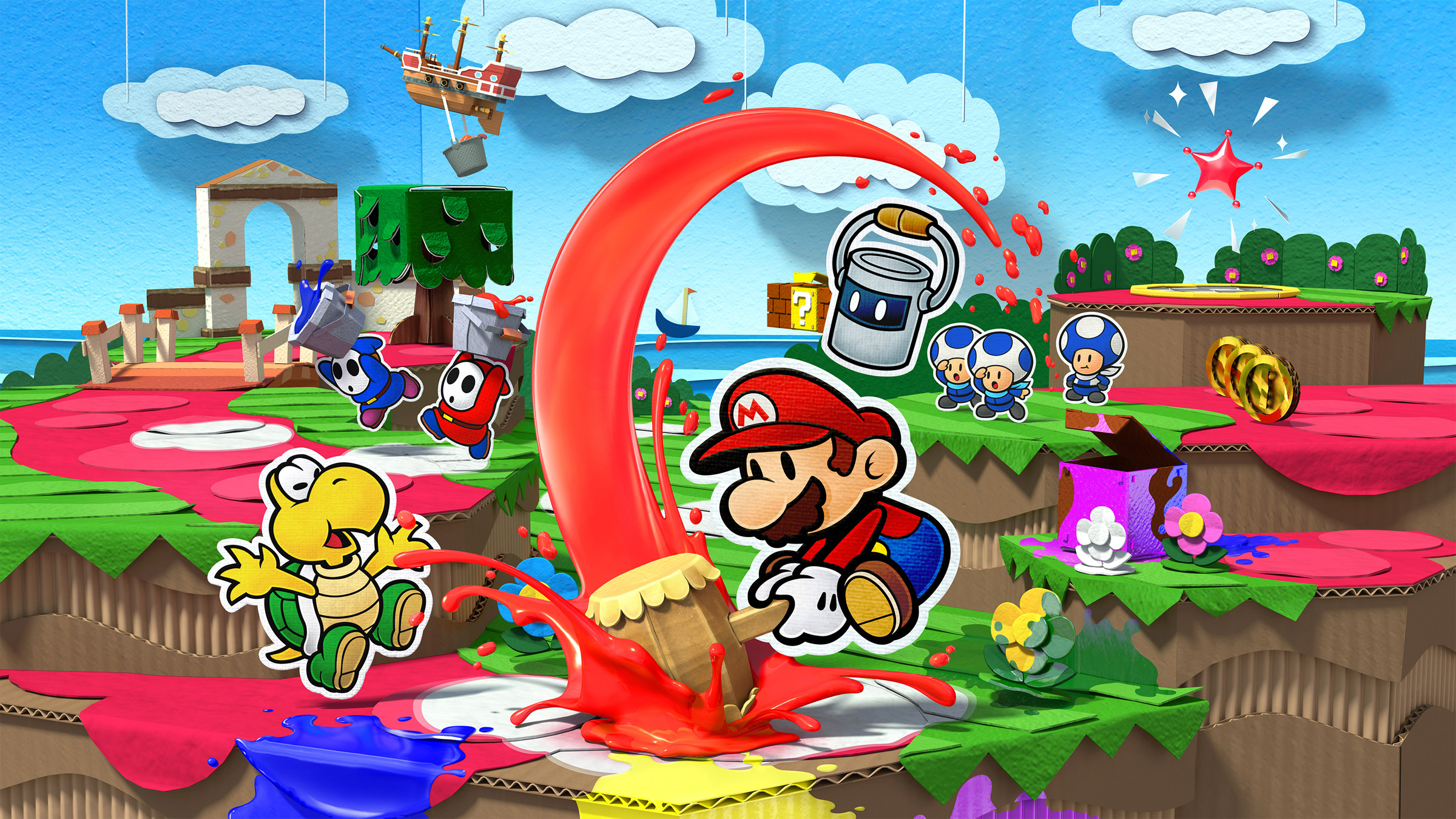 Paper Mario Color Splash Review Polygon