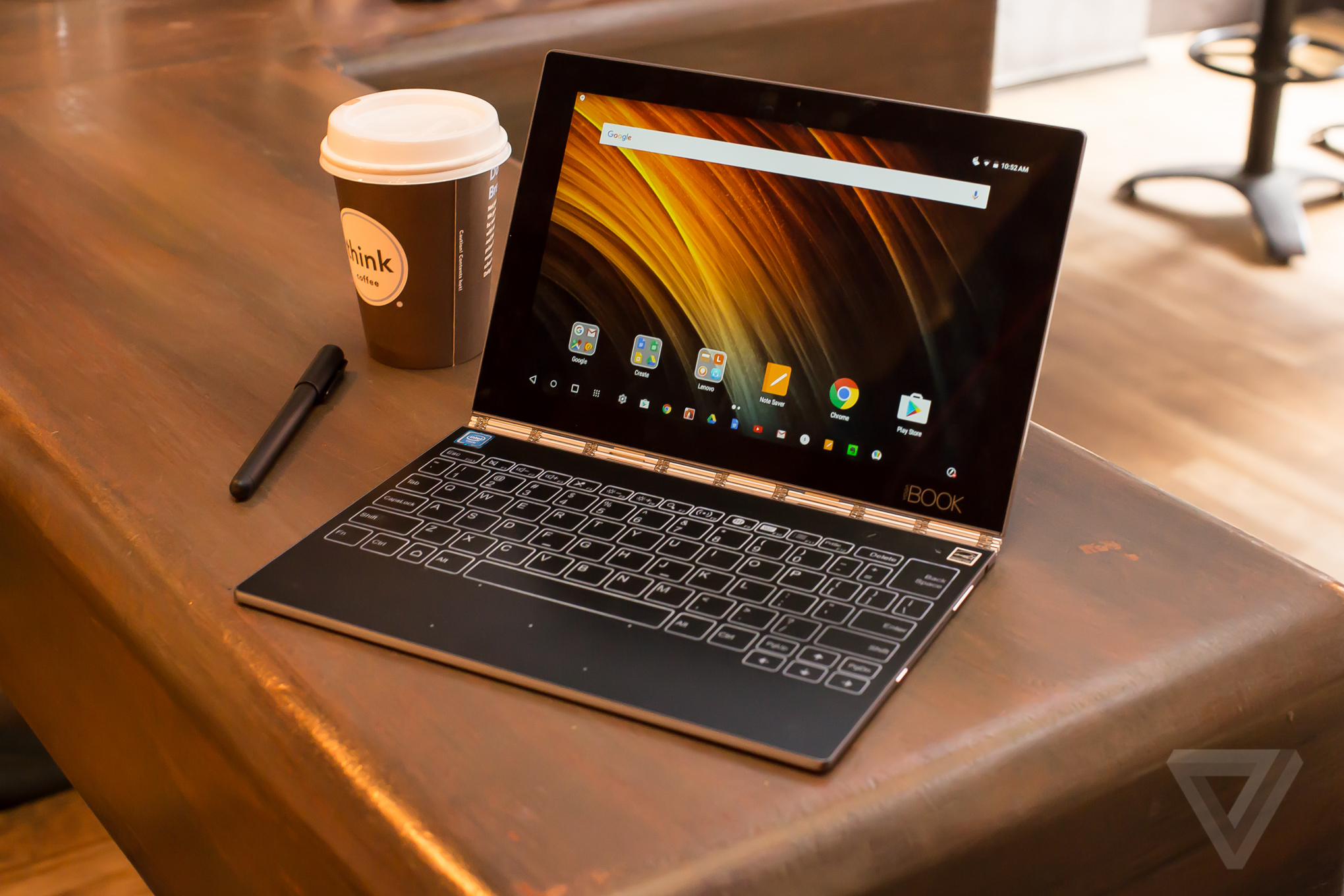 Lenovo Yoga Book Review The Unbearable Lightness Of Computing Microsoft Surface Charger Wiring Diagram Verge