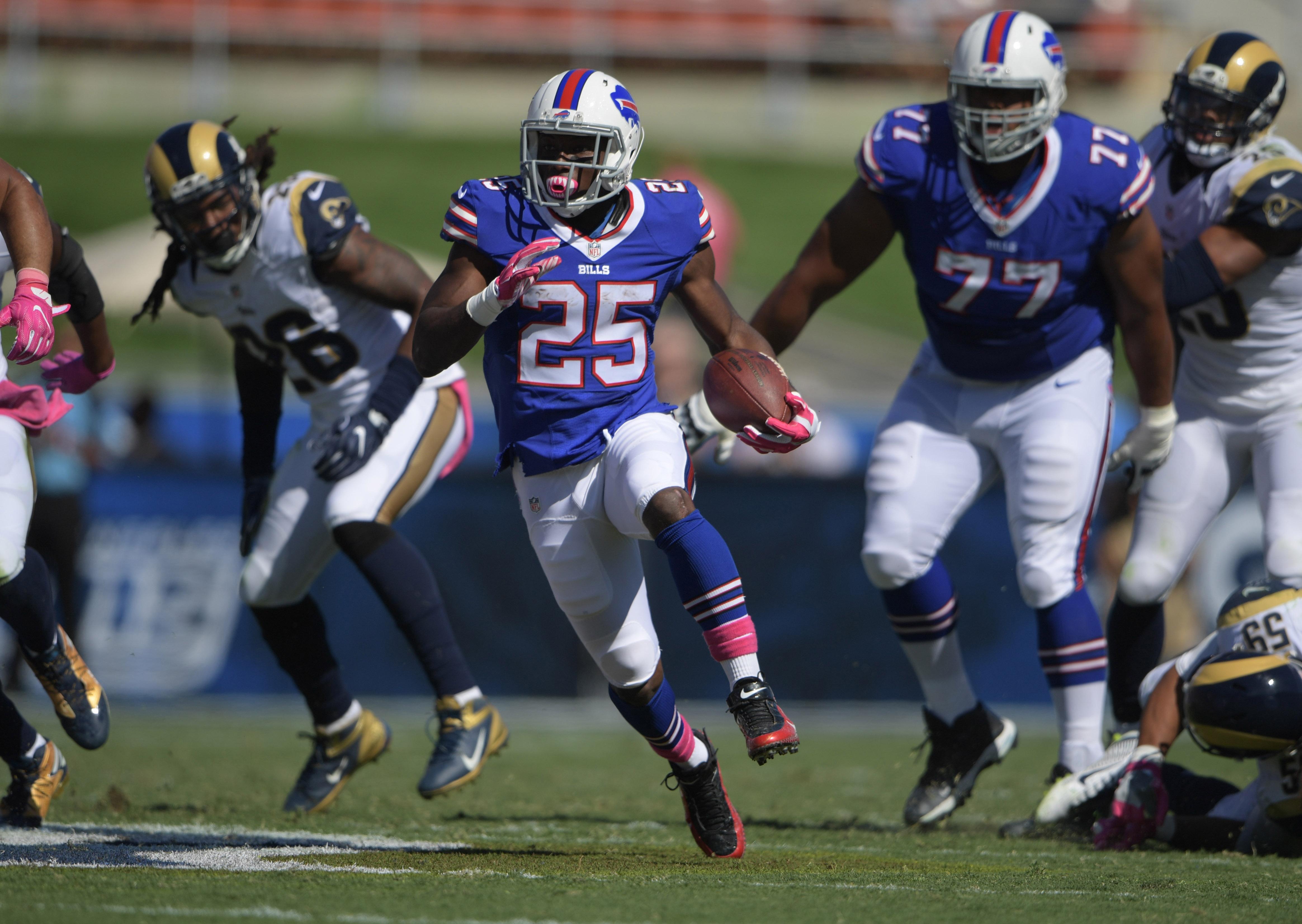 NFL: Buffalo Bills at Los Angeles Rams