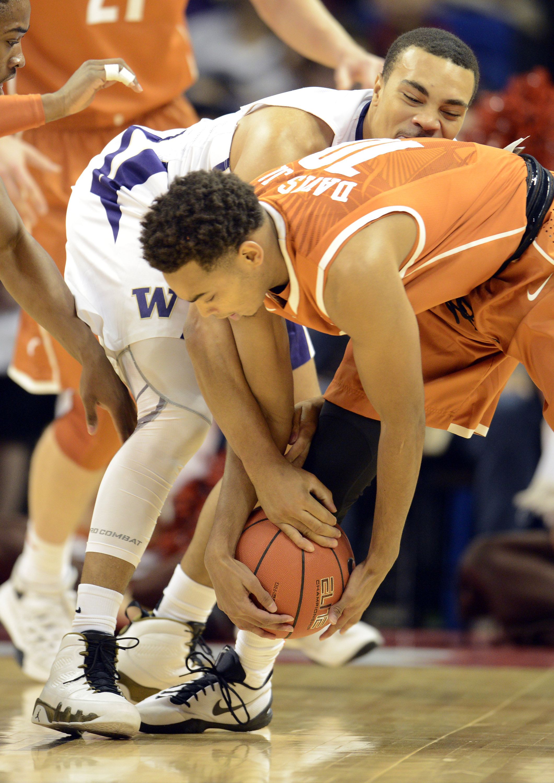 NCAA Basketball: Texas at Washington