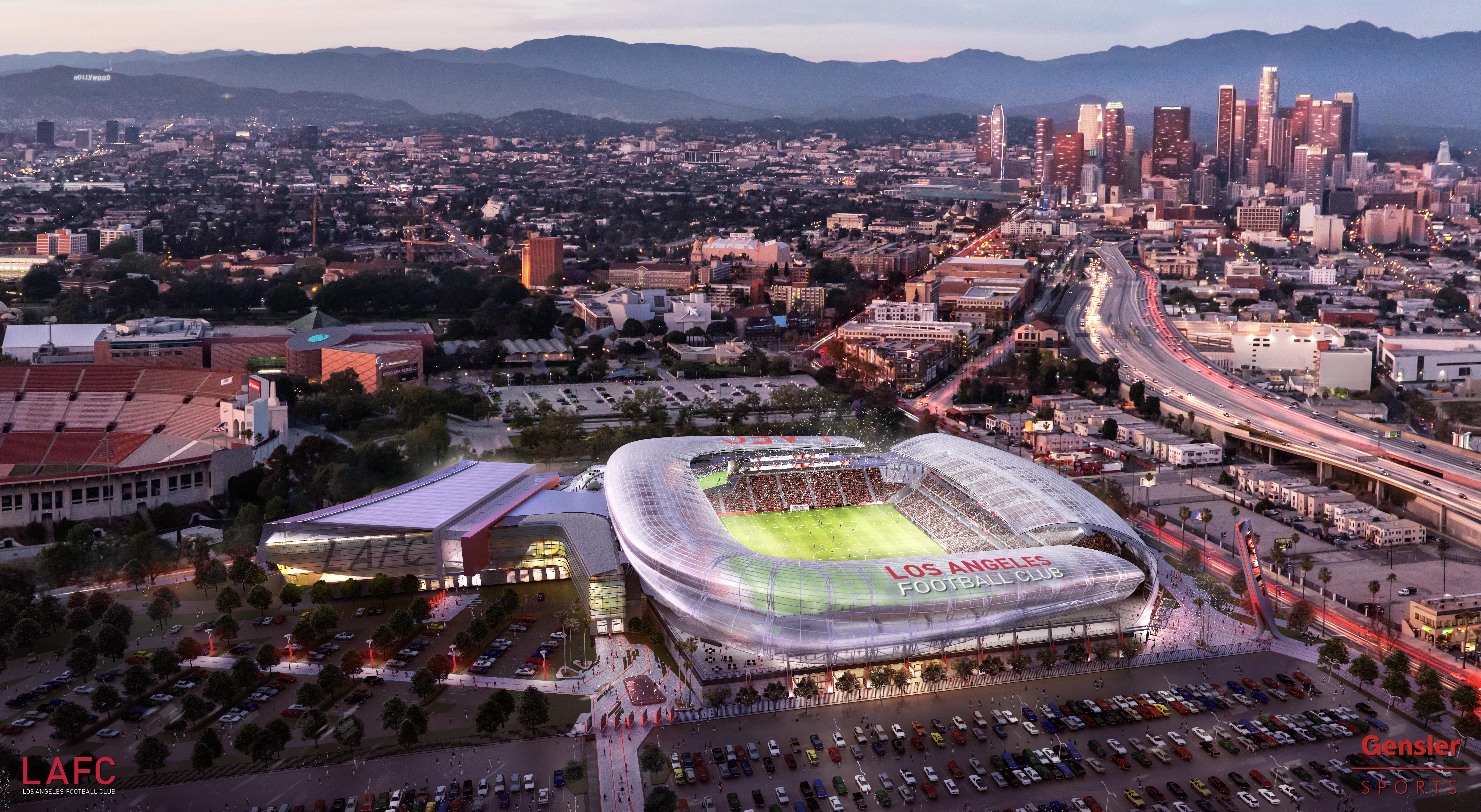 LAFC stadium rendering