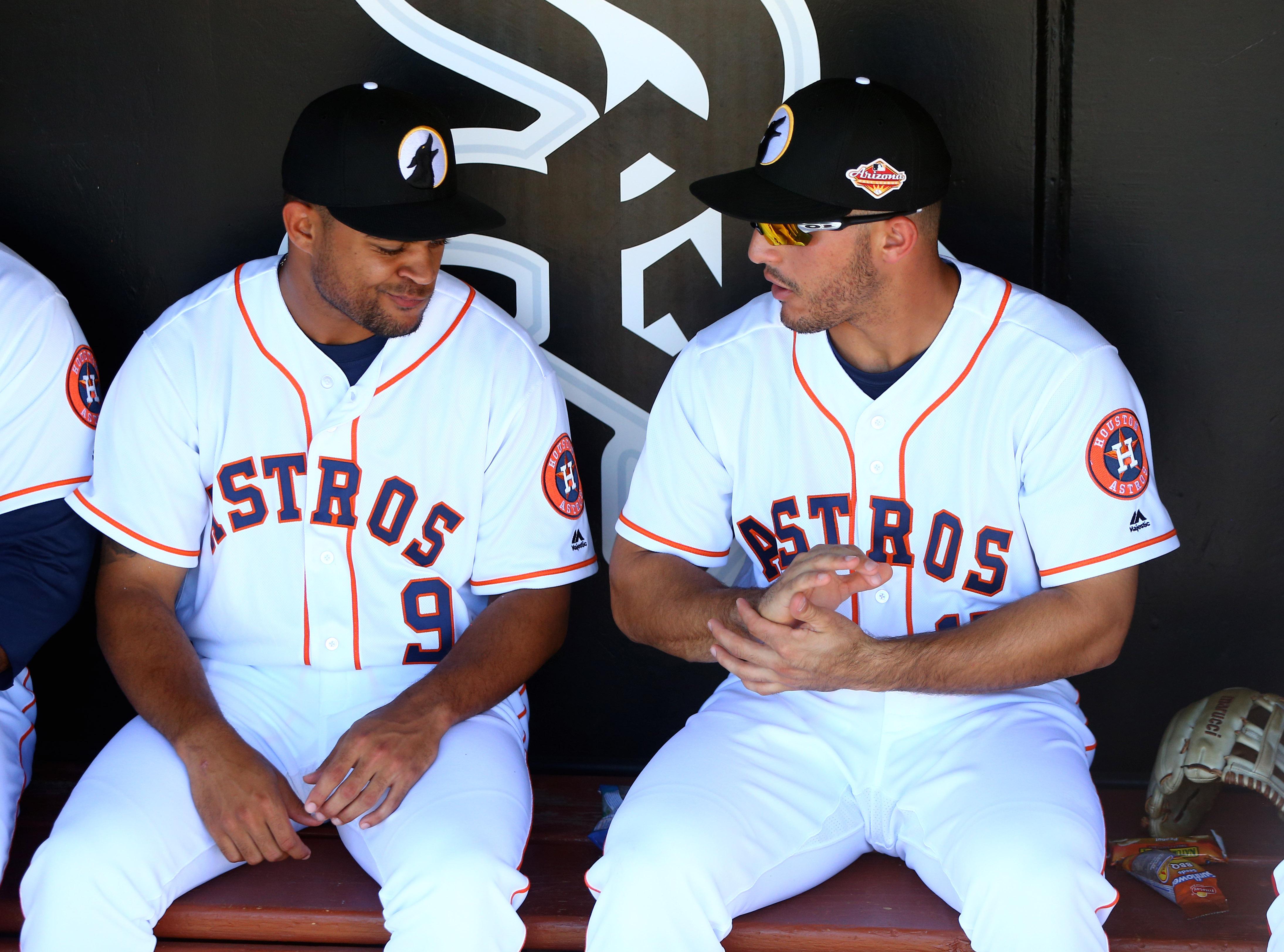 Jason Martin and Ramon Laureano got things started well in Arizona last week.