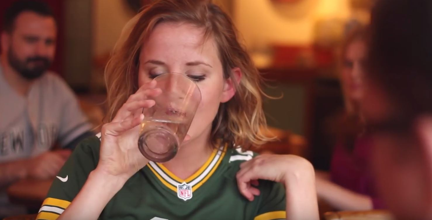 "Packers parody ""When Harry Met Sally"""