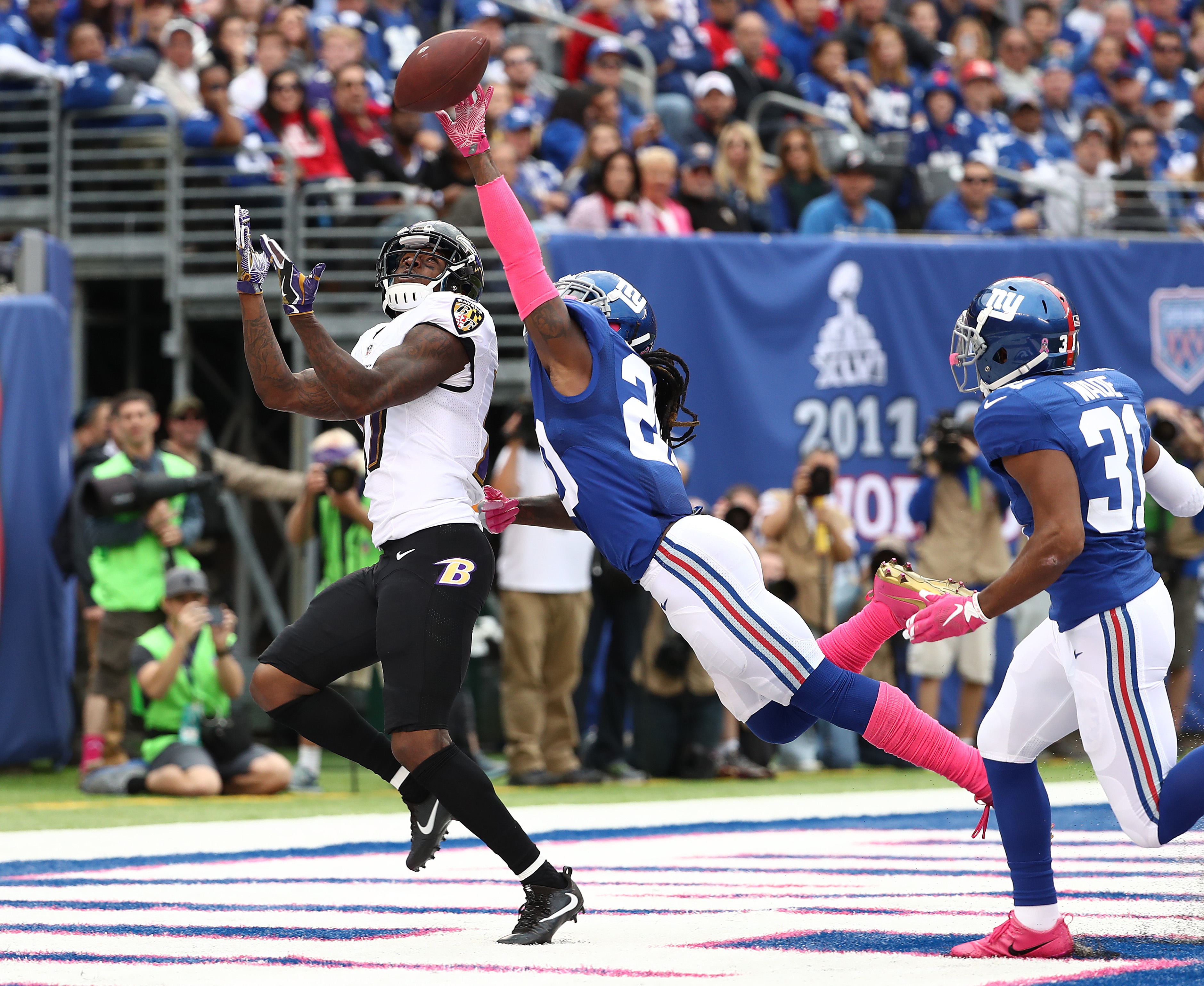 Baltimore Ravens v New York Giants