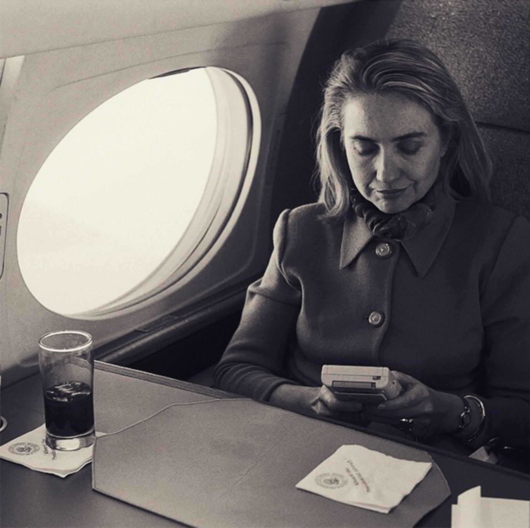 Hillary Clinton on Gameboy