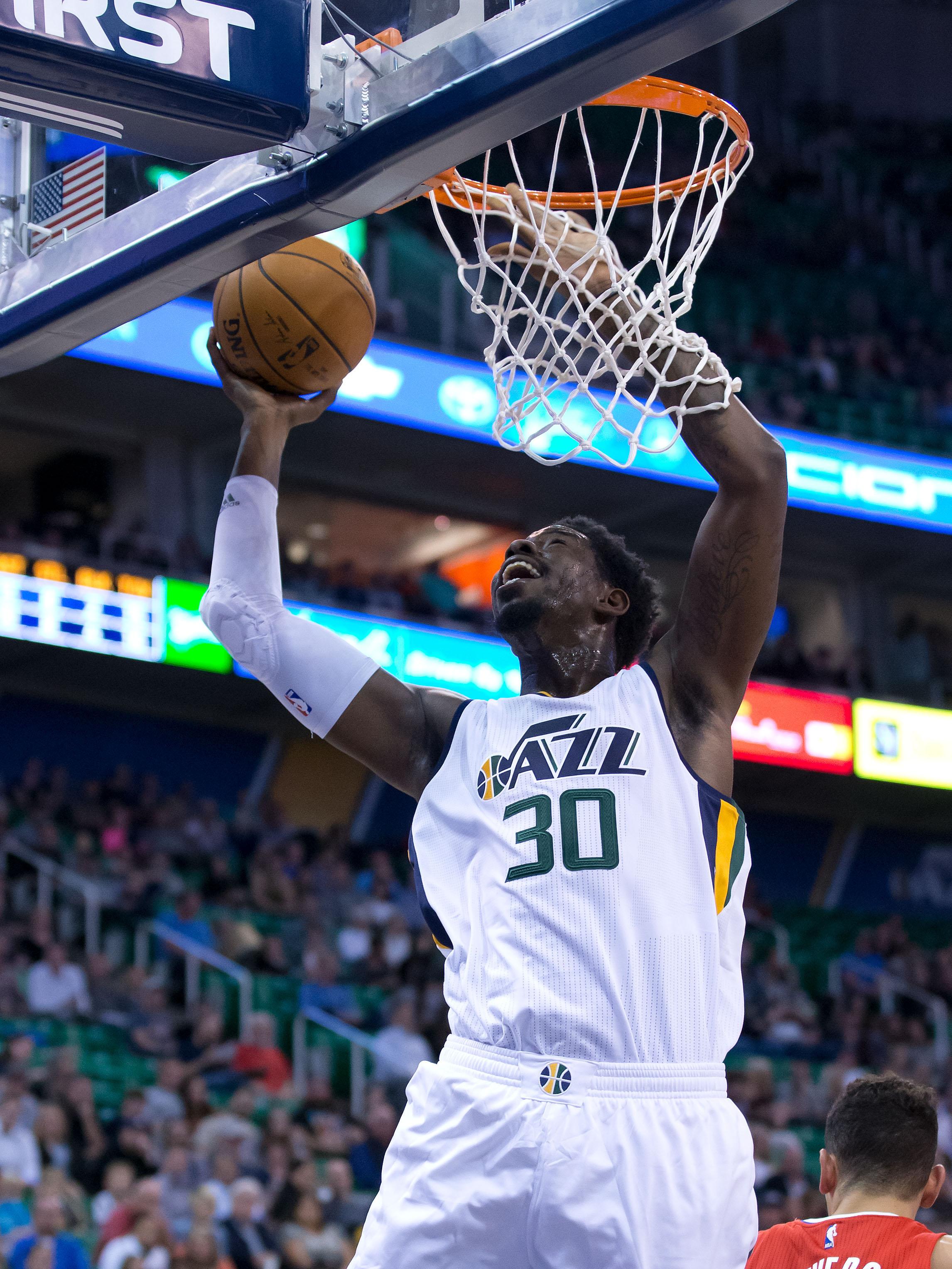 NBA: Preseason-Los Angeles Clippers at Utah Jazz